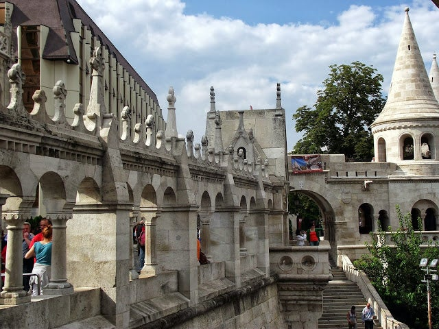 Tourism in Fisherman's Bastion