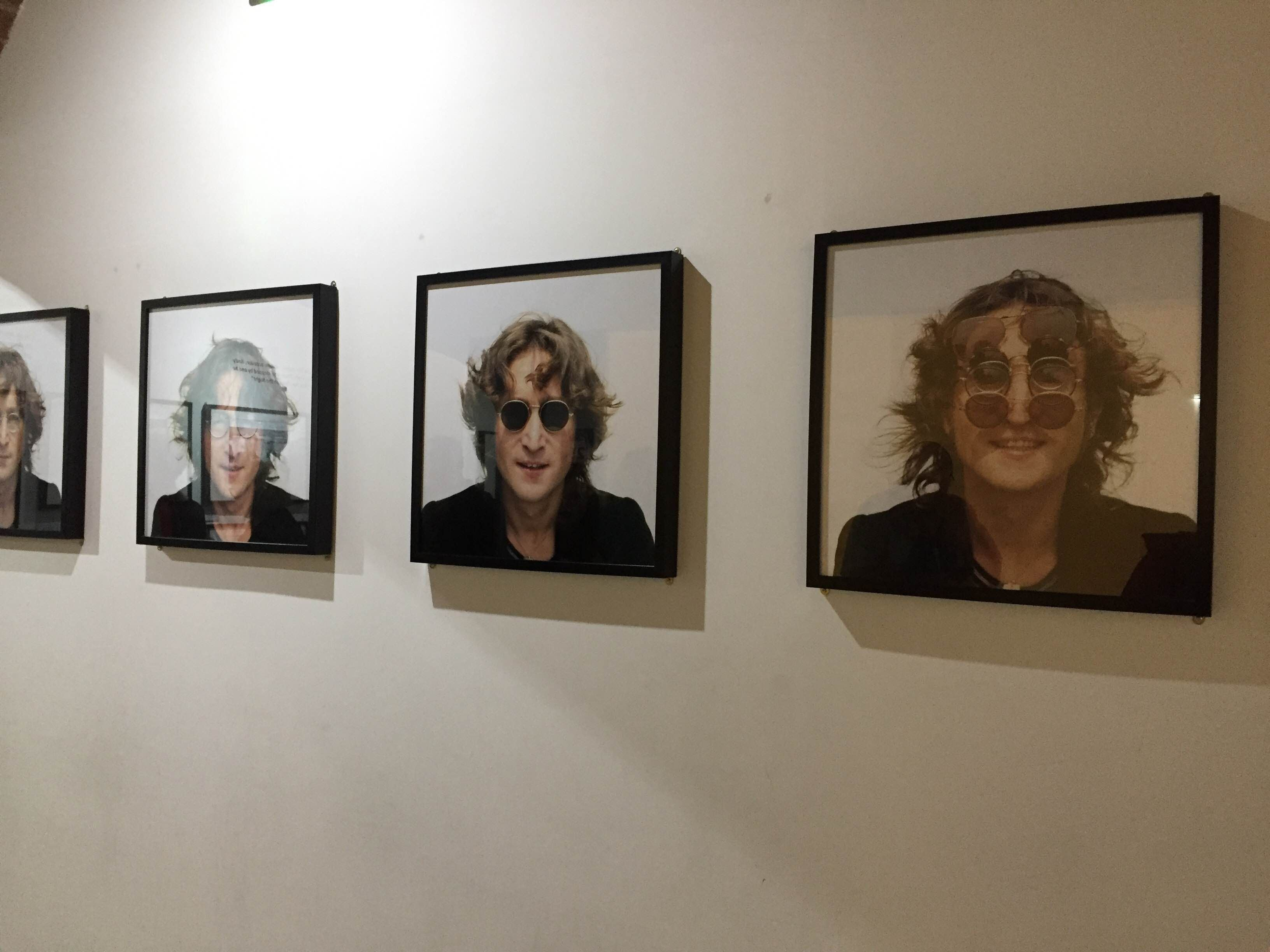 Exhibición de arte en The Beatles Story