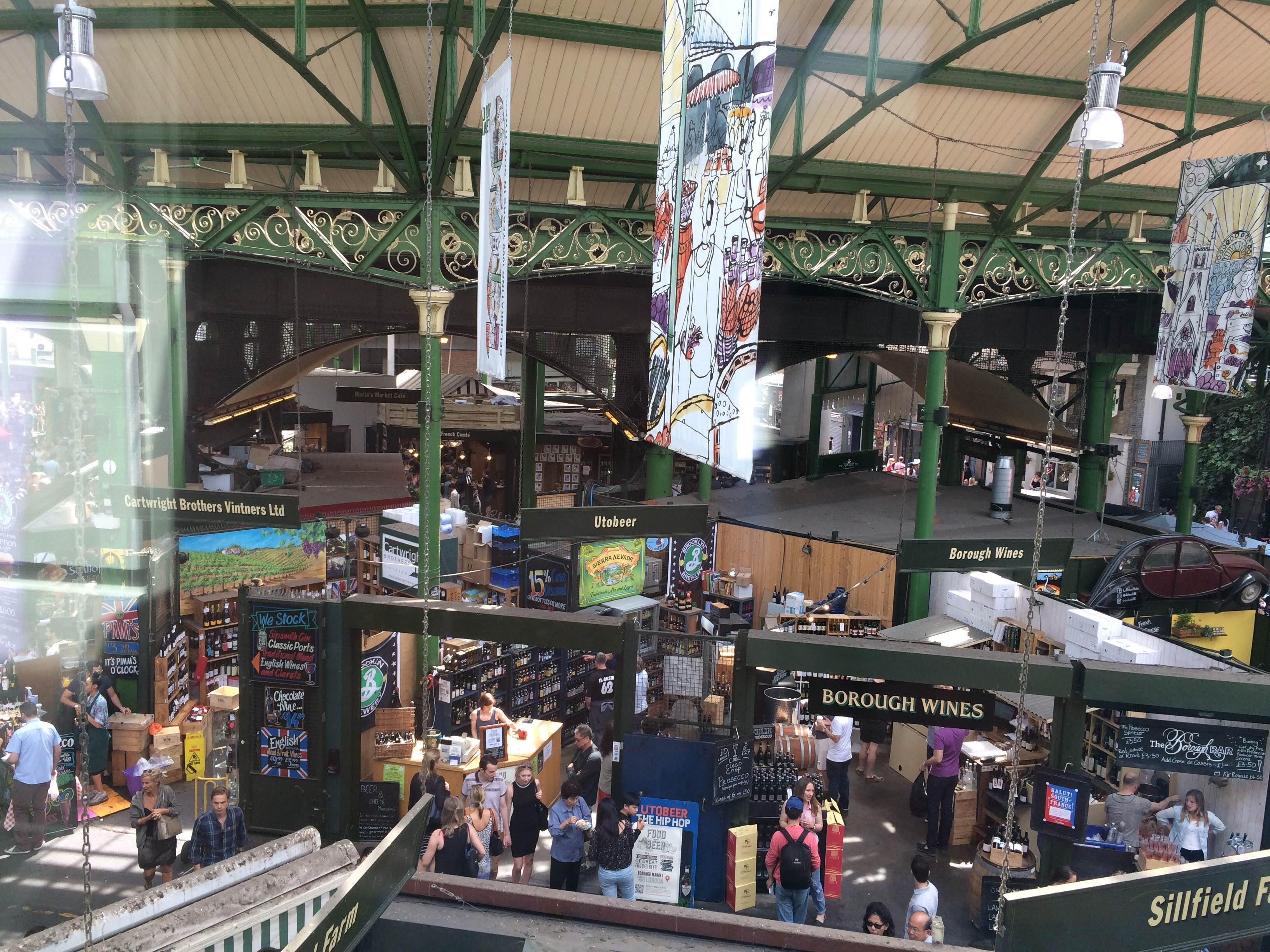 Ciudad en Borough Market
