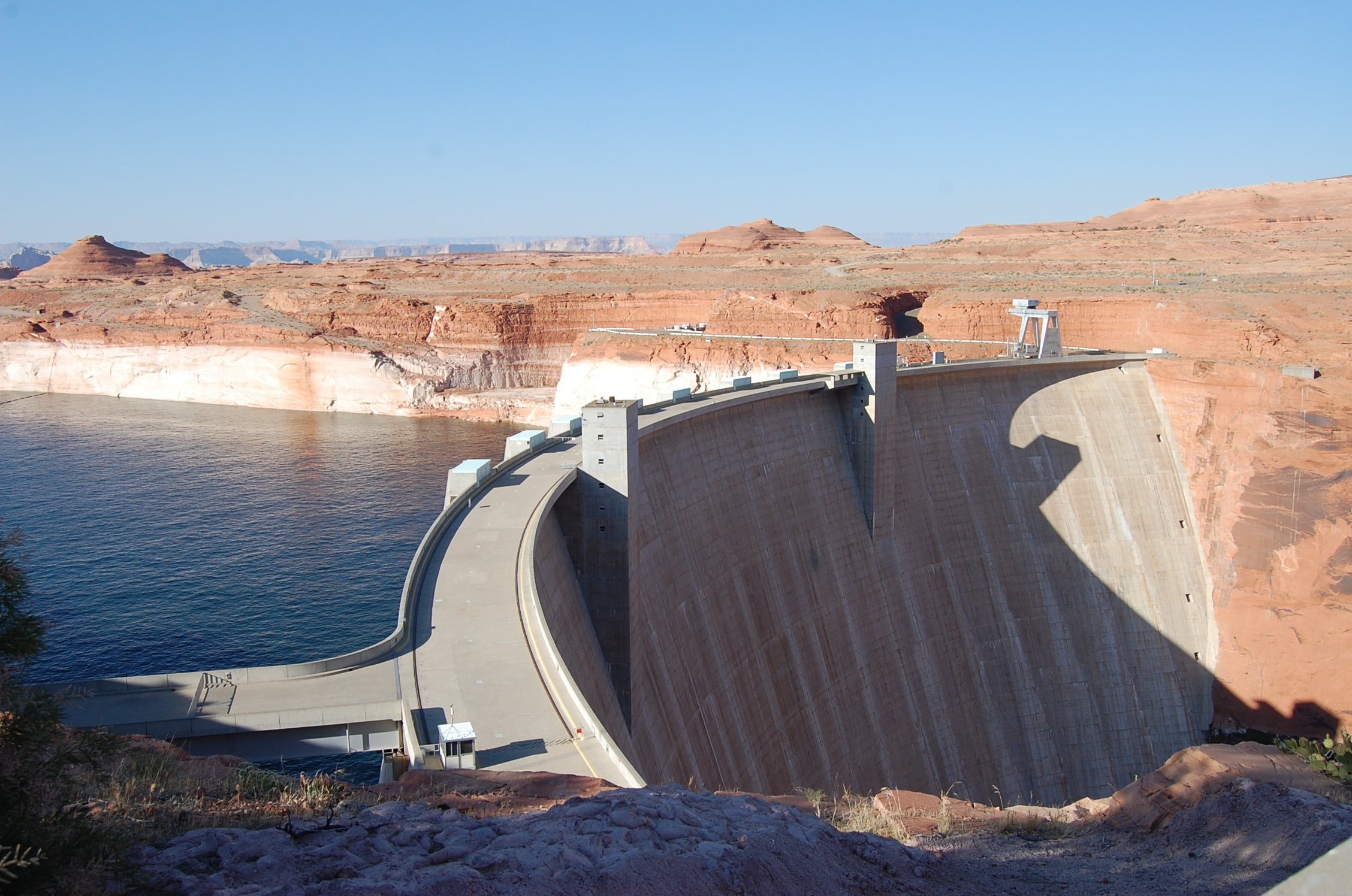 Costa en Glen Canyon Bridge