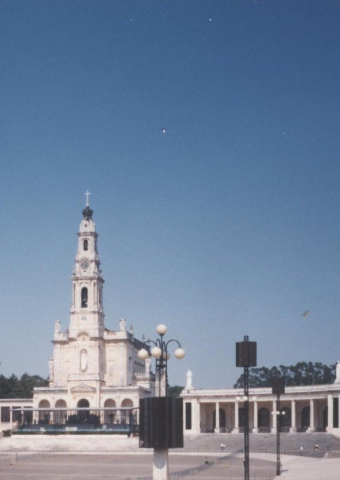 Landmark in Basilica of Our Lady of the Rosary of Fatima
