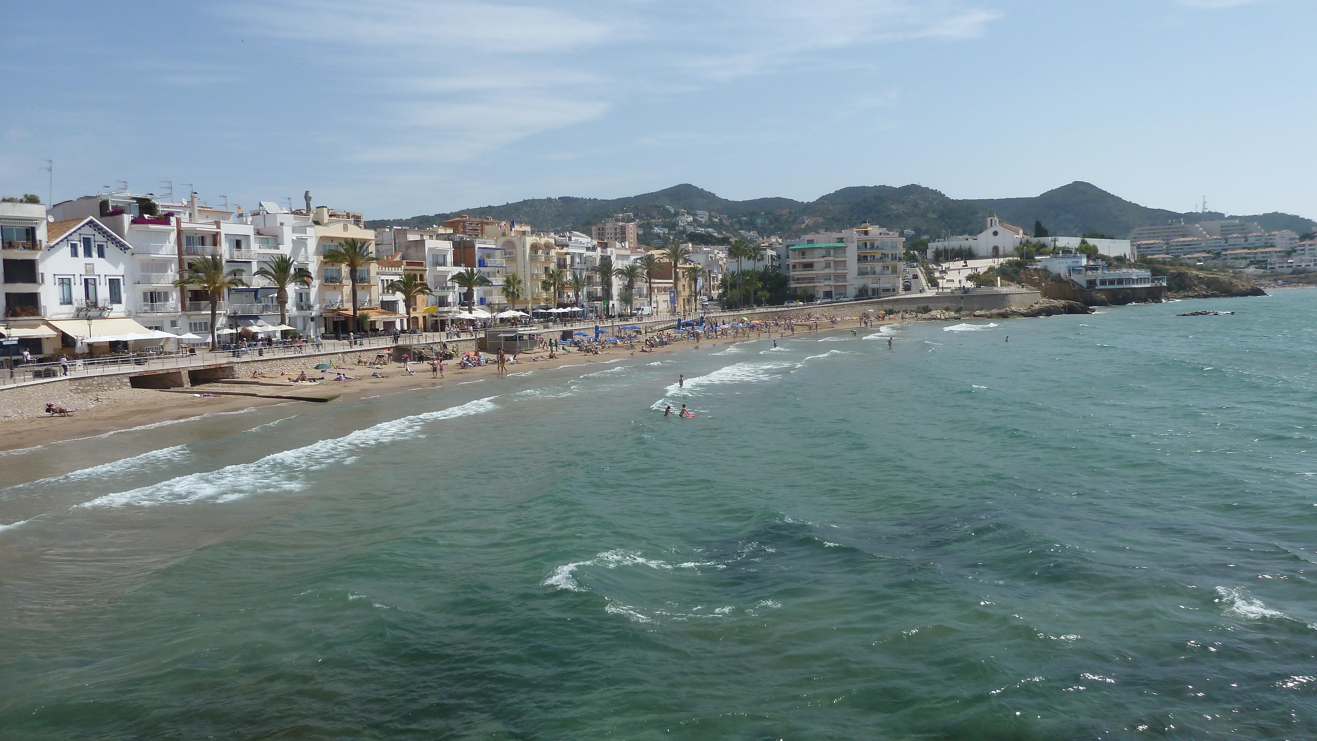 Waterway in Sitges