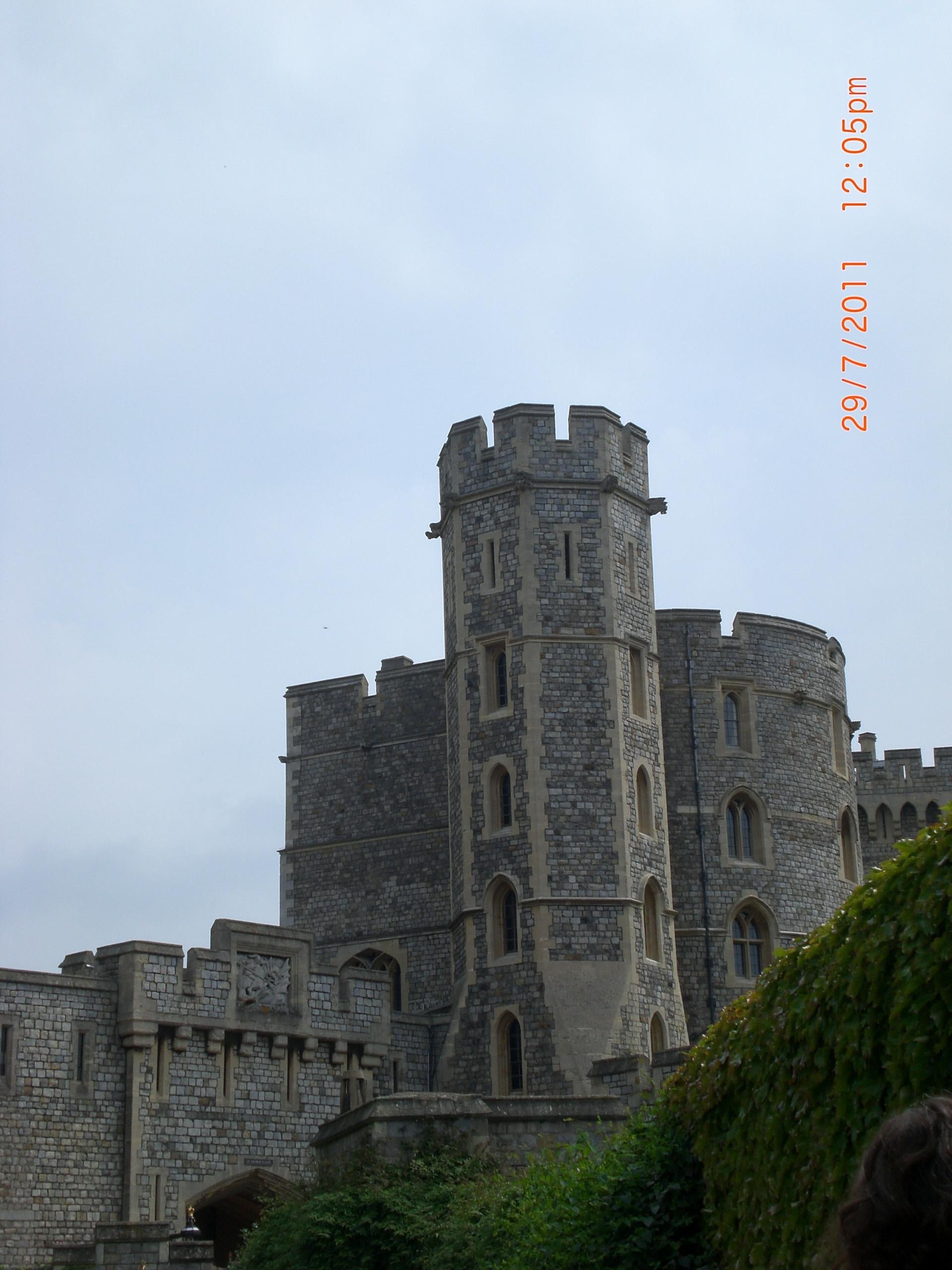 Mar en Castillo de Windsor