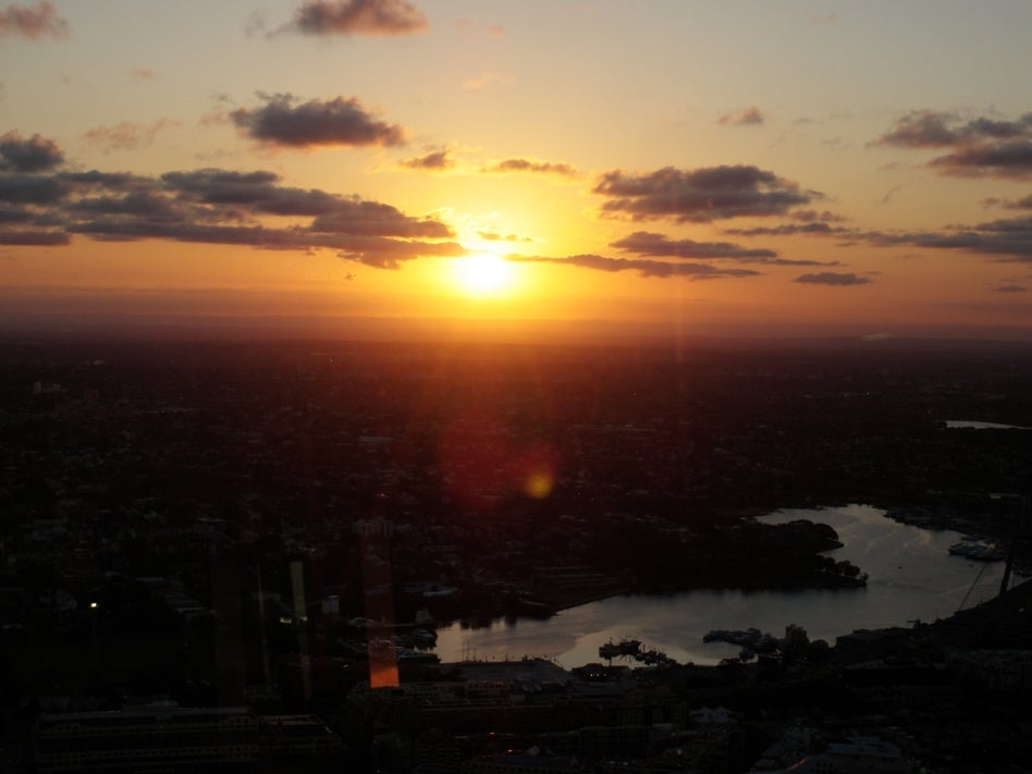 Playa en Sydney Tower