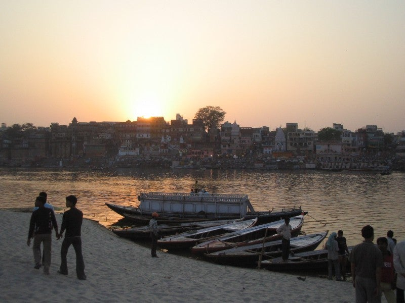 Mar en Río Ganges