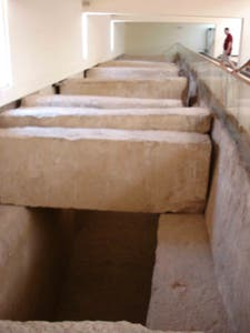 Funerary boat of Keops