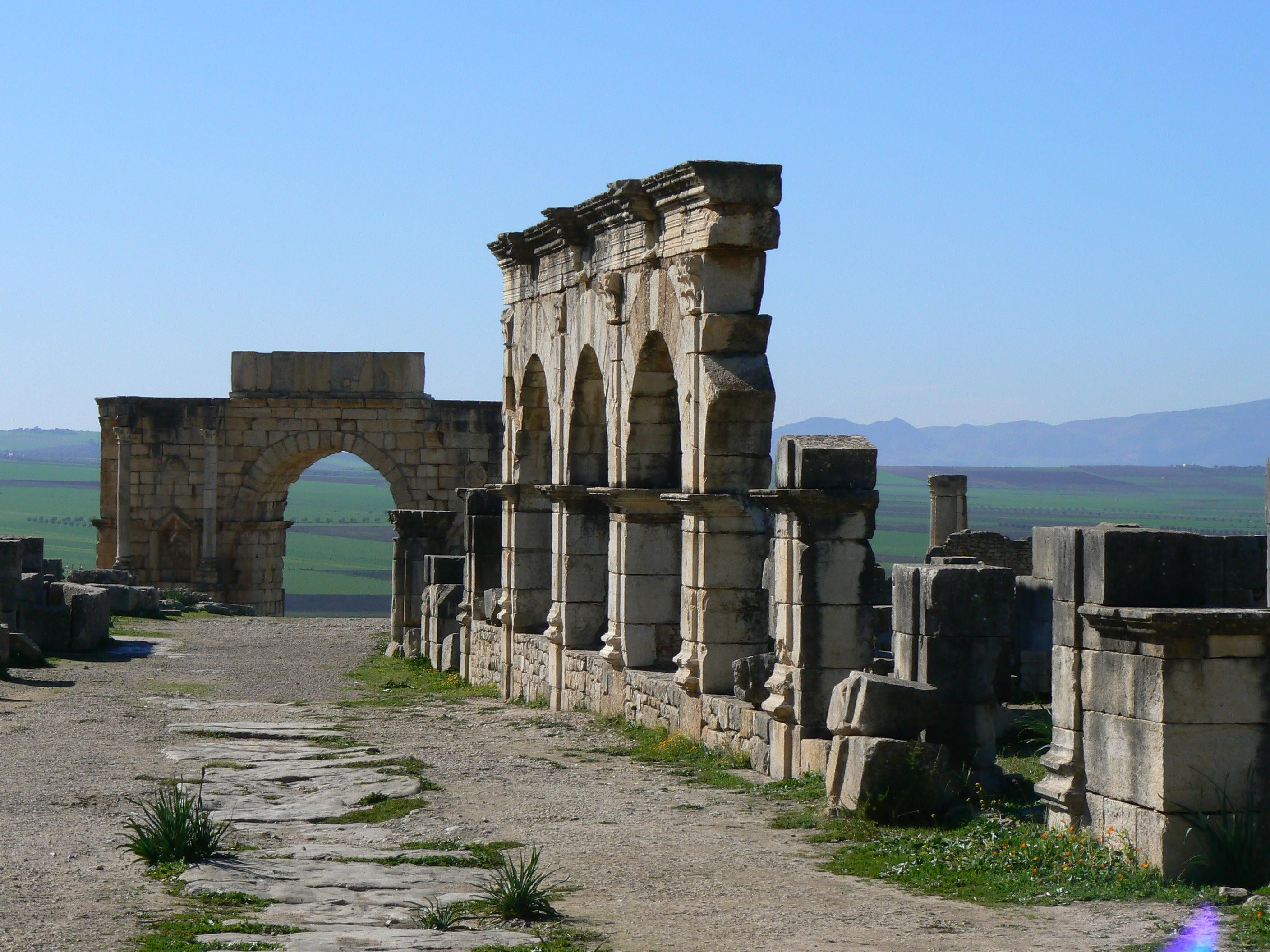 Mausoleo en Volubilis