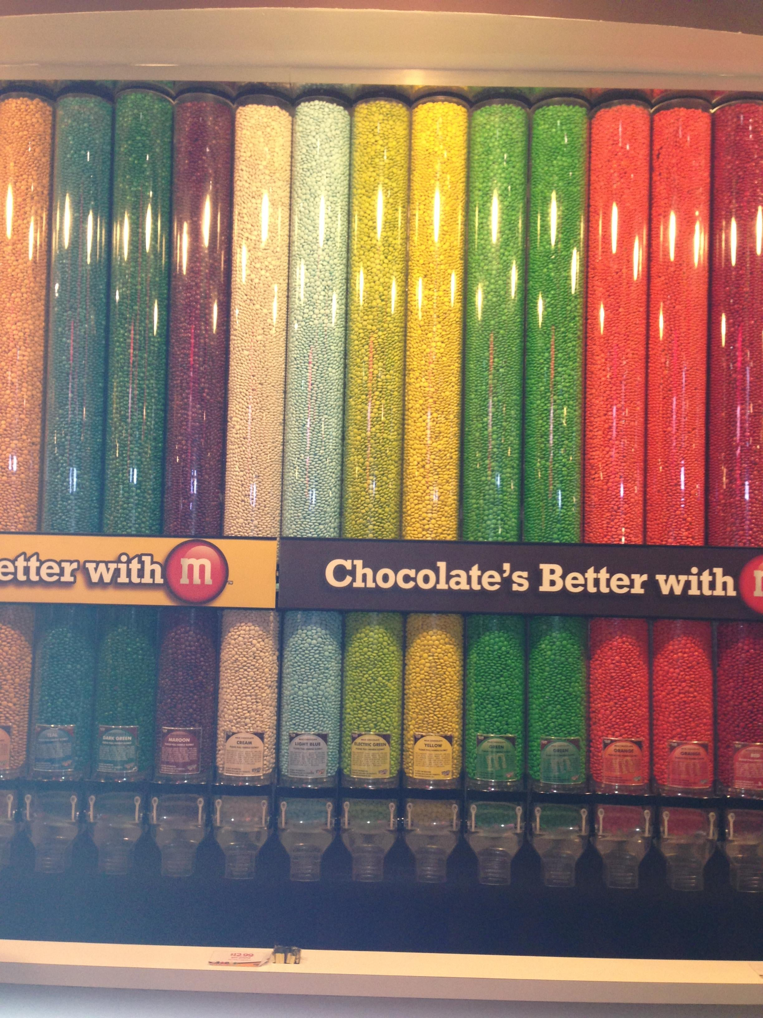 Pintura en M&M'S World