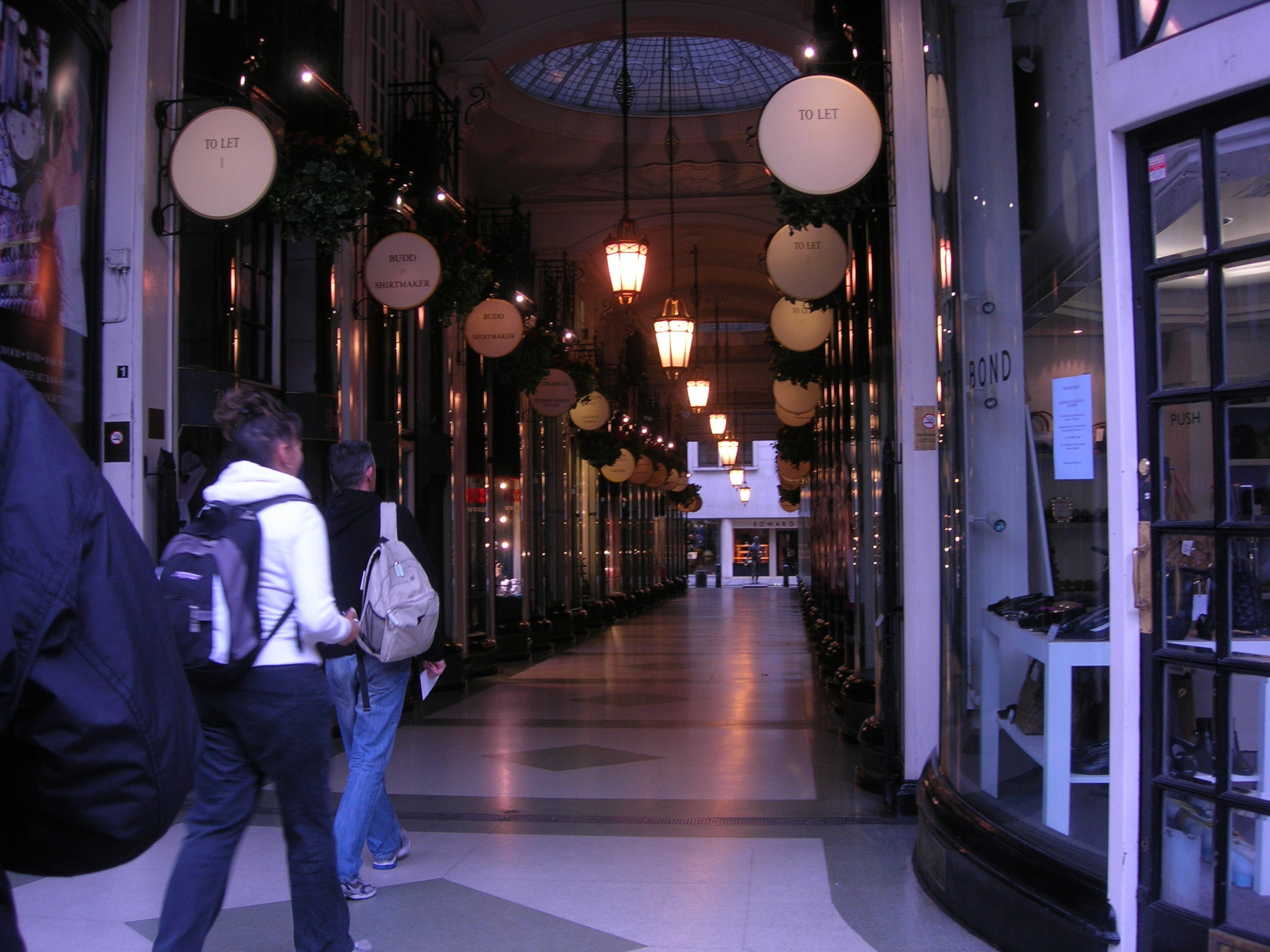 Restaurante en Burlington Arcade