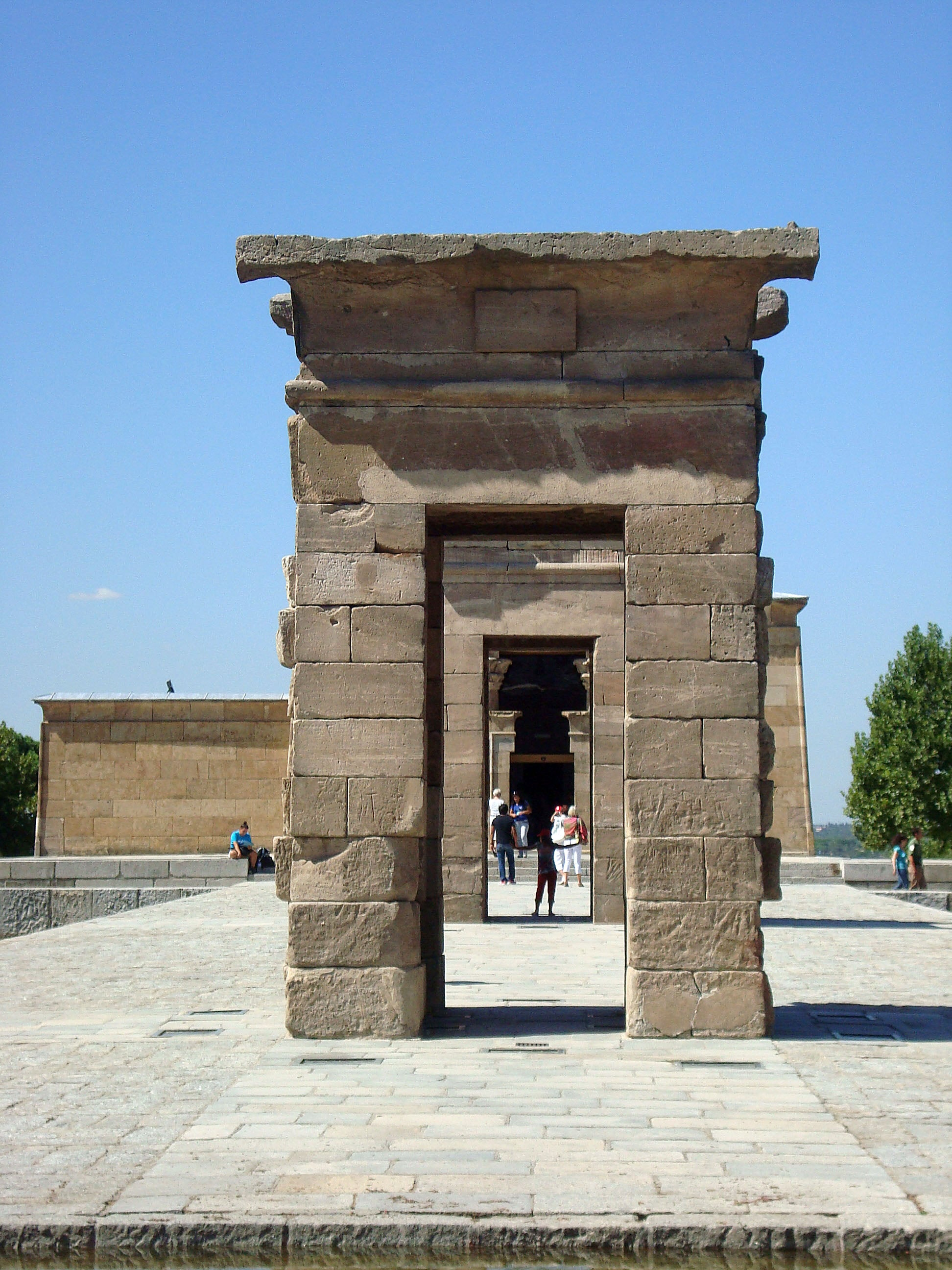 Monument in Temple of Debod