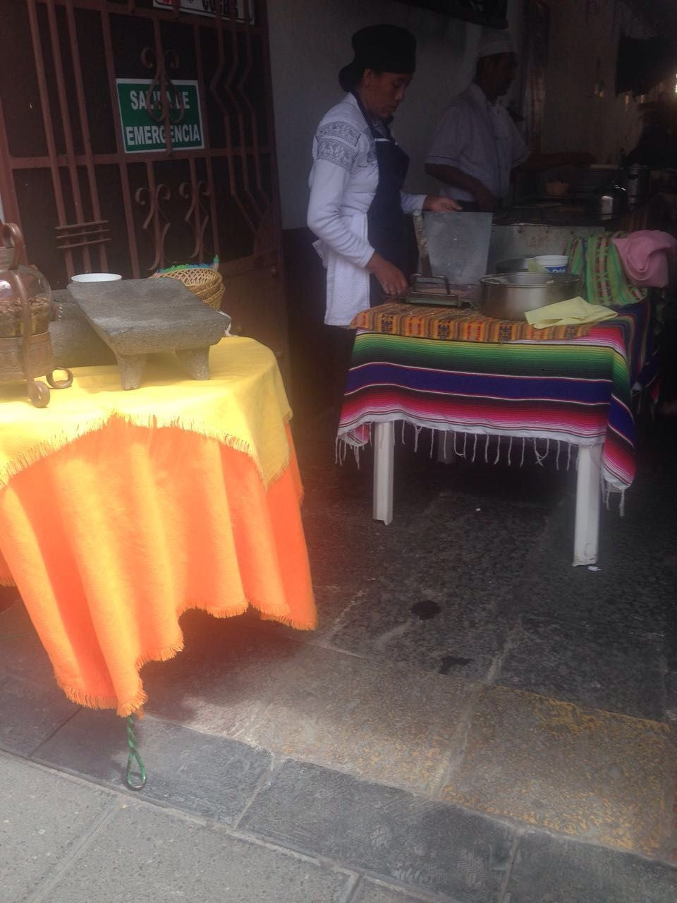 Food in La Casona de Tlaxcala