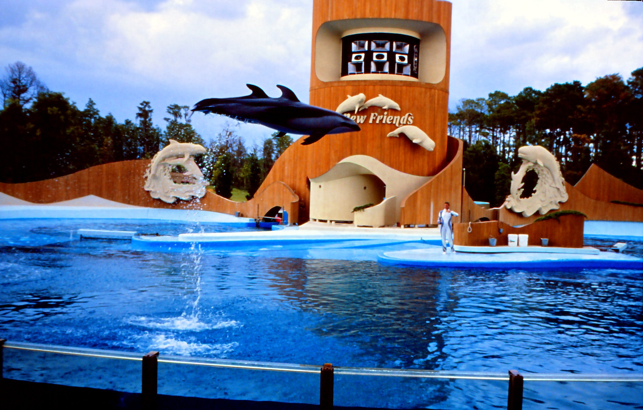 Parque en Sea World Orlando