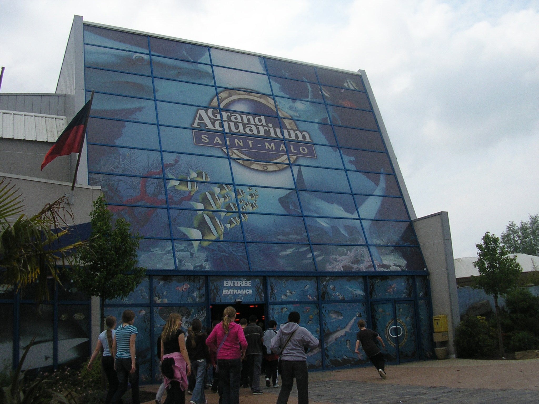 The large Aquarium of Saint Malo