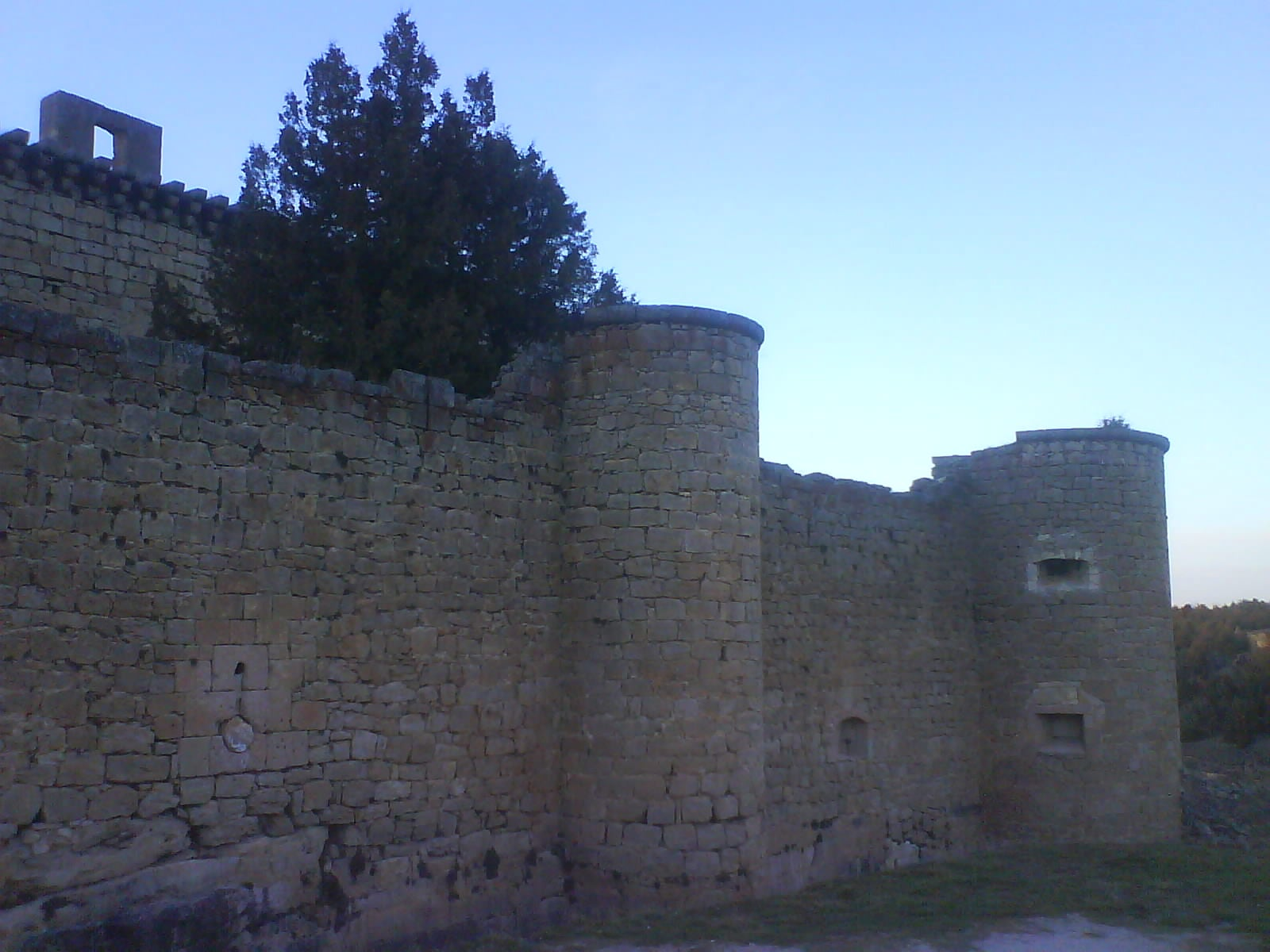 Pared en Castillo de Pedraza