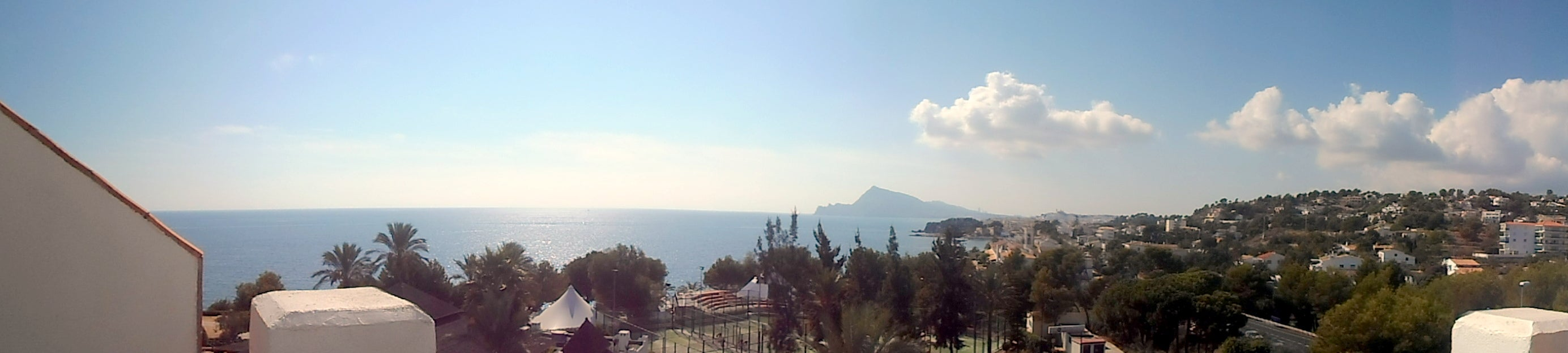 Skyline en Altea