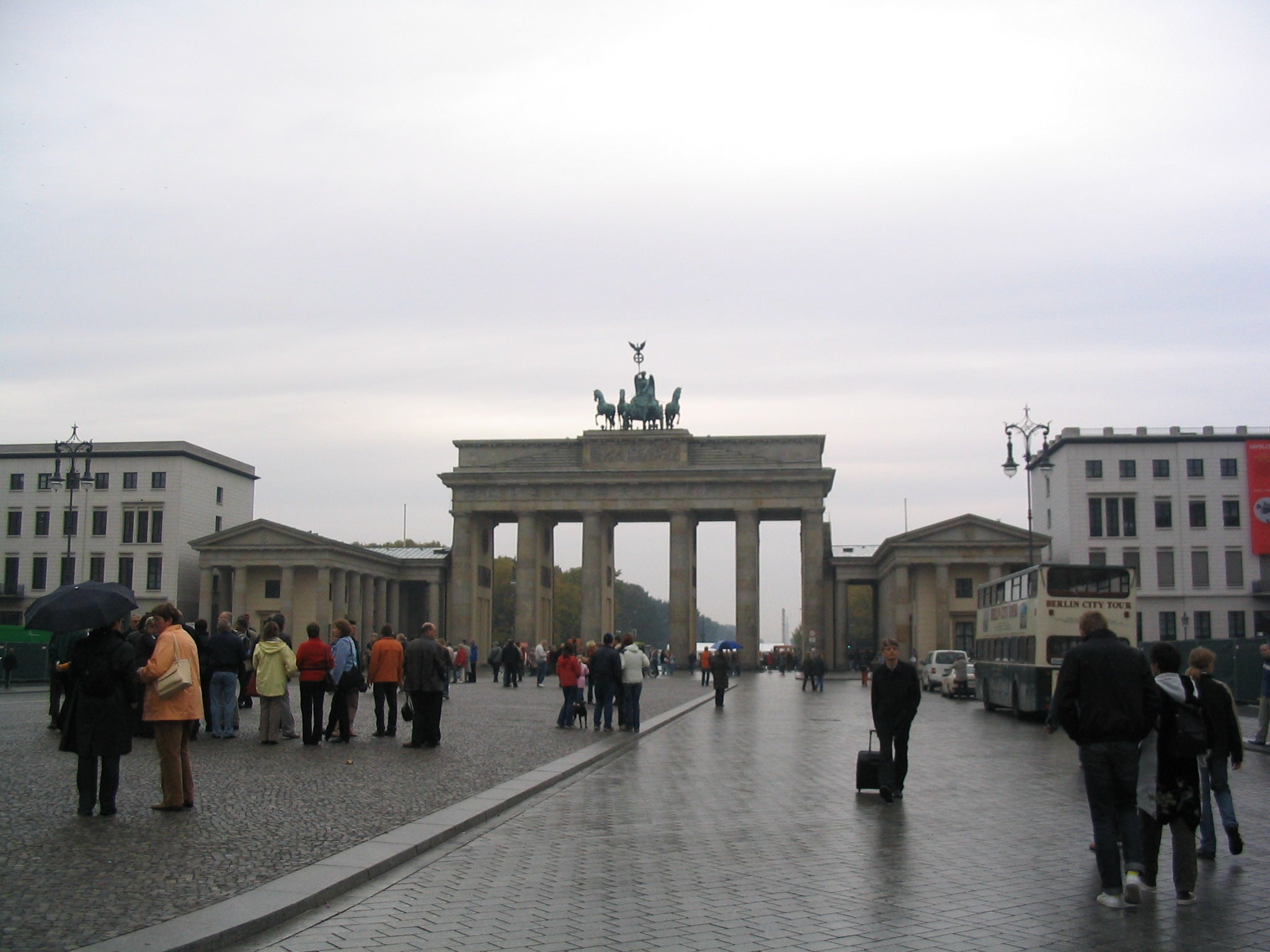 Walkway in Brandenburg Gate