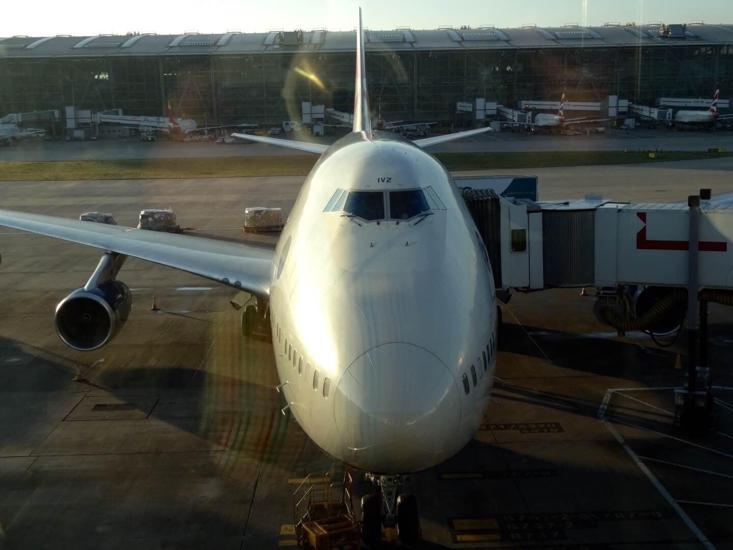 Boeing 787 dreamliner en Aeropuerto de Londres - Heathrow
