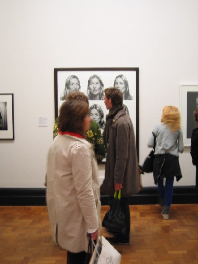 Exhibición de arte en National Portrait Gallery