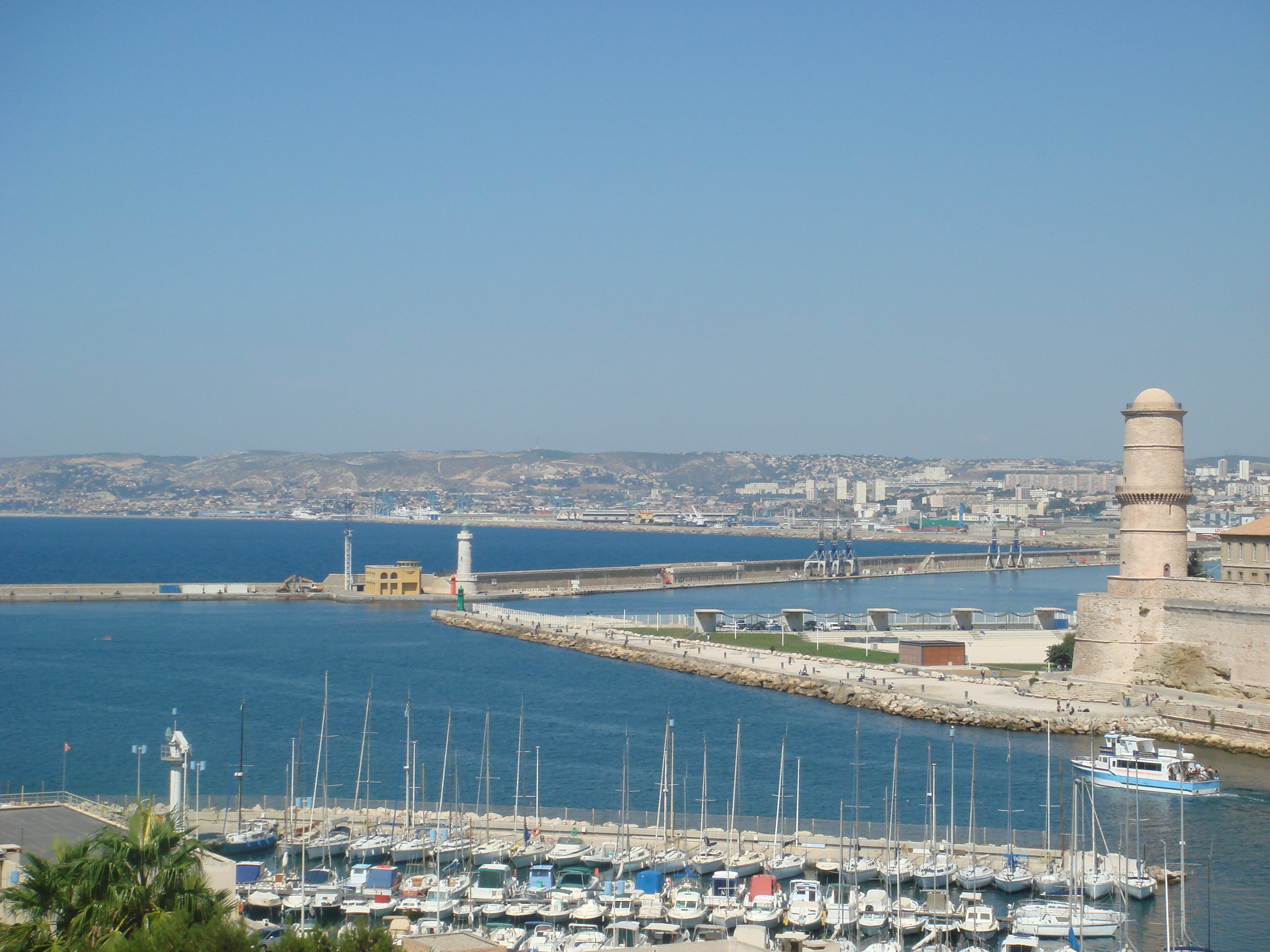 Body Of Water in Port of Marseille