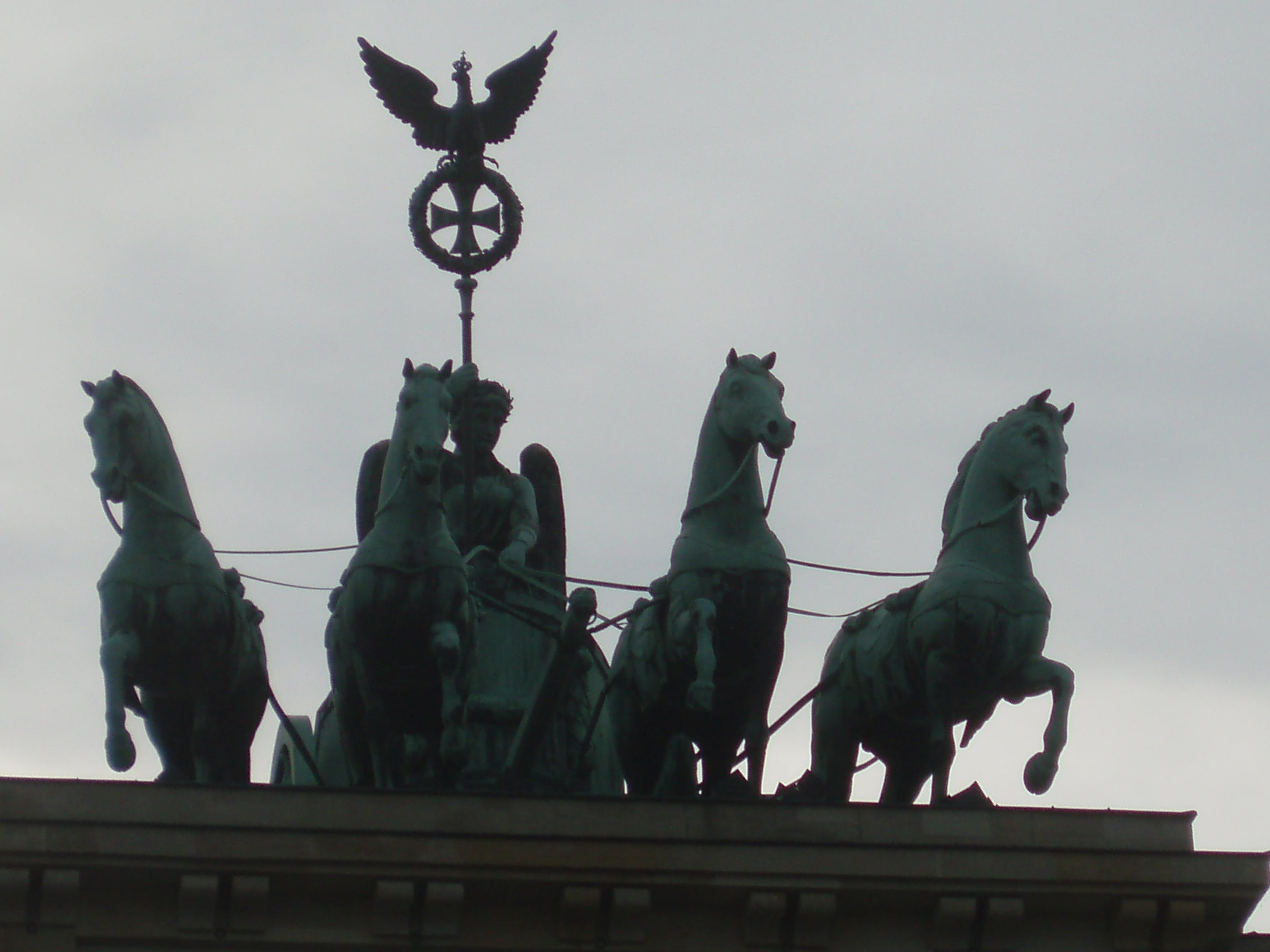 Statue in Brandenburg Gate