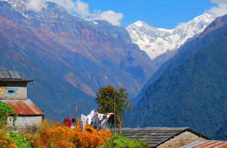 Ghandruk (village of Annapurna)