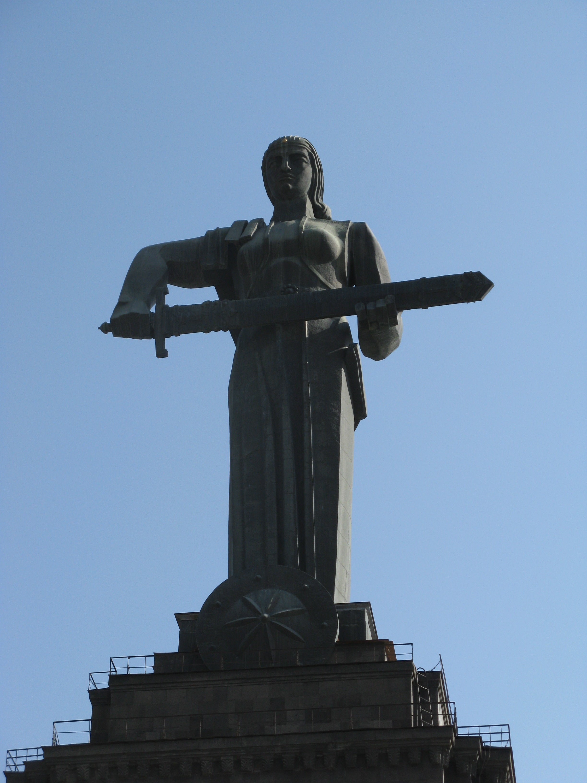 Estatua Madre Armenia