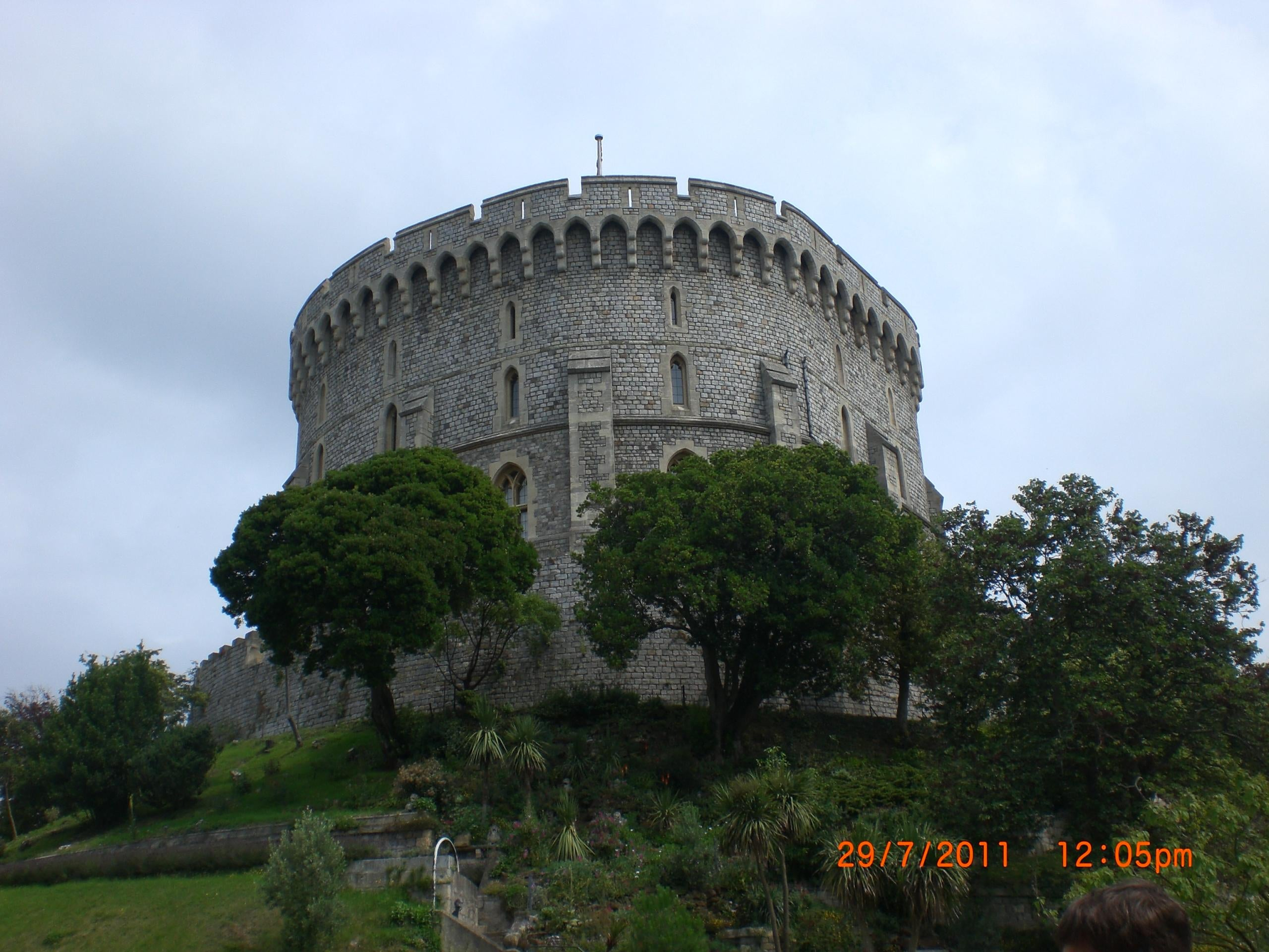 Mausoleo en Castillo de Windsor