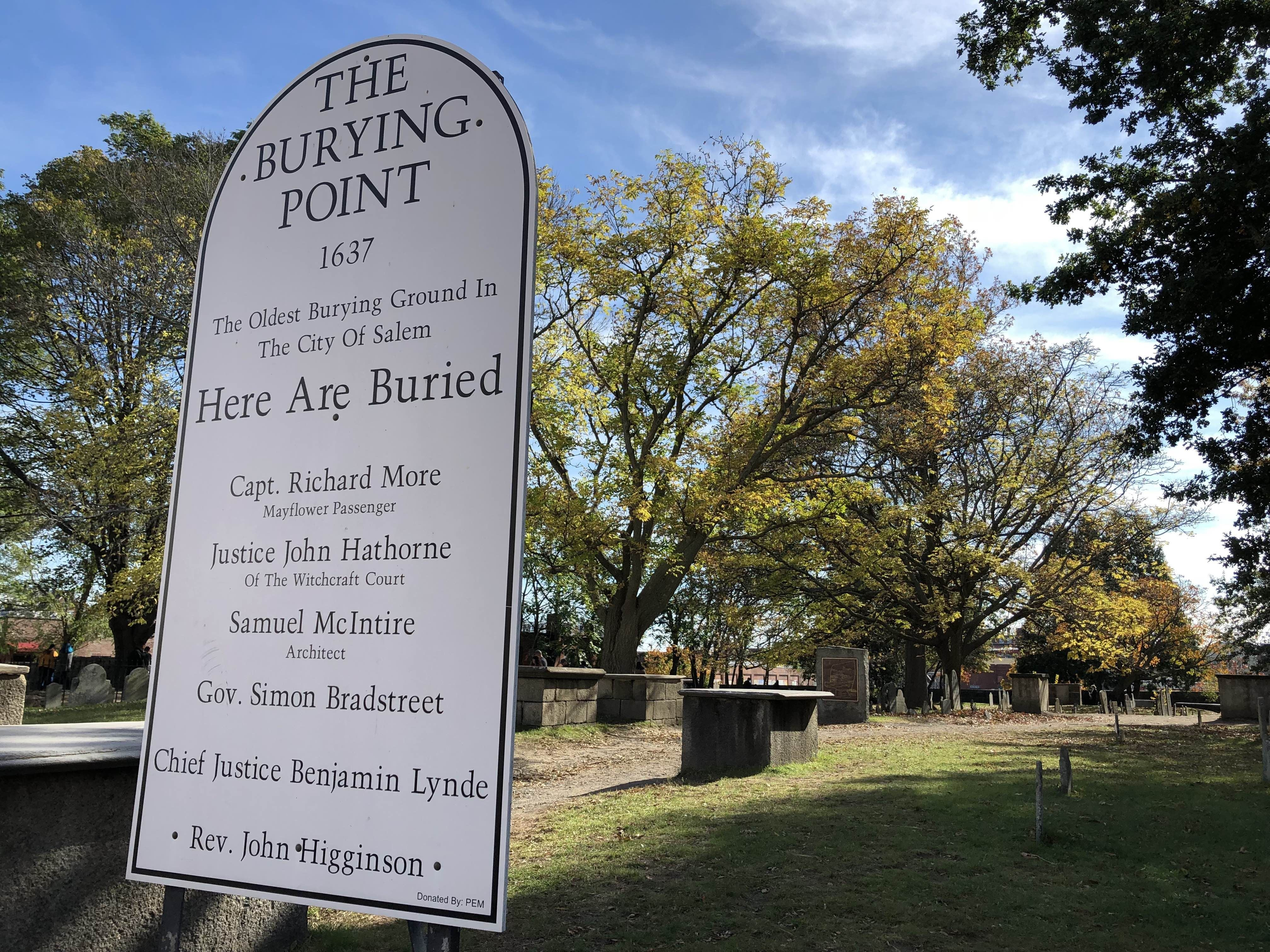The Burying Point