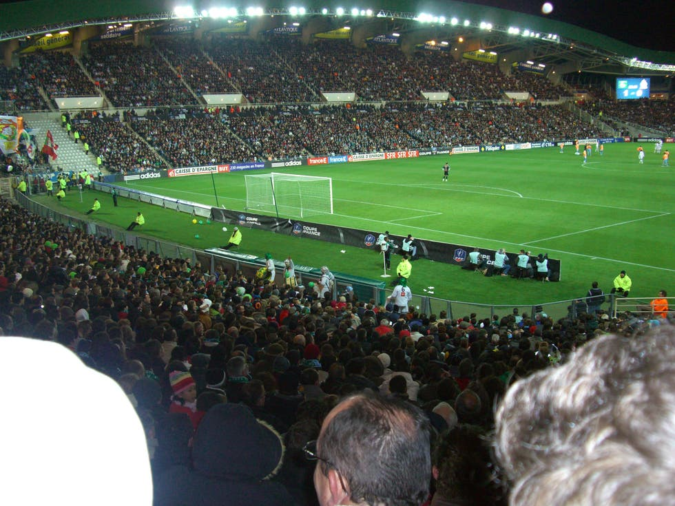 stadio della beaujoire di nantes a nantes 6 opinioni e 13 foto. Black Bedroom Furniture Sets. Home Design Ideas