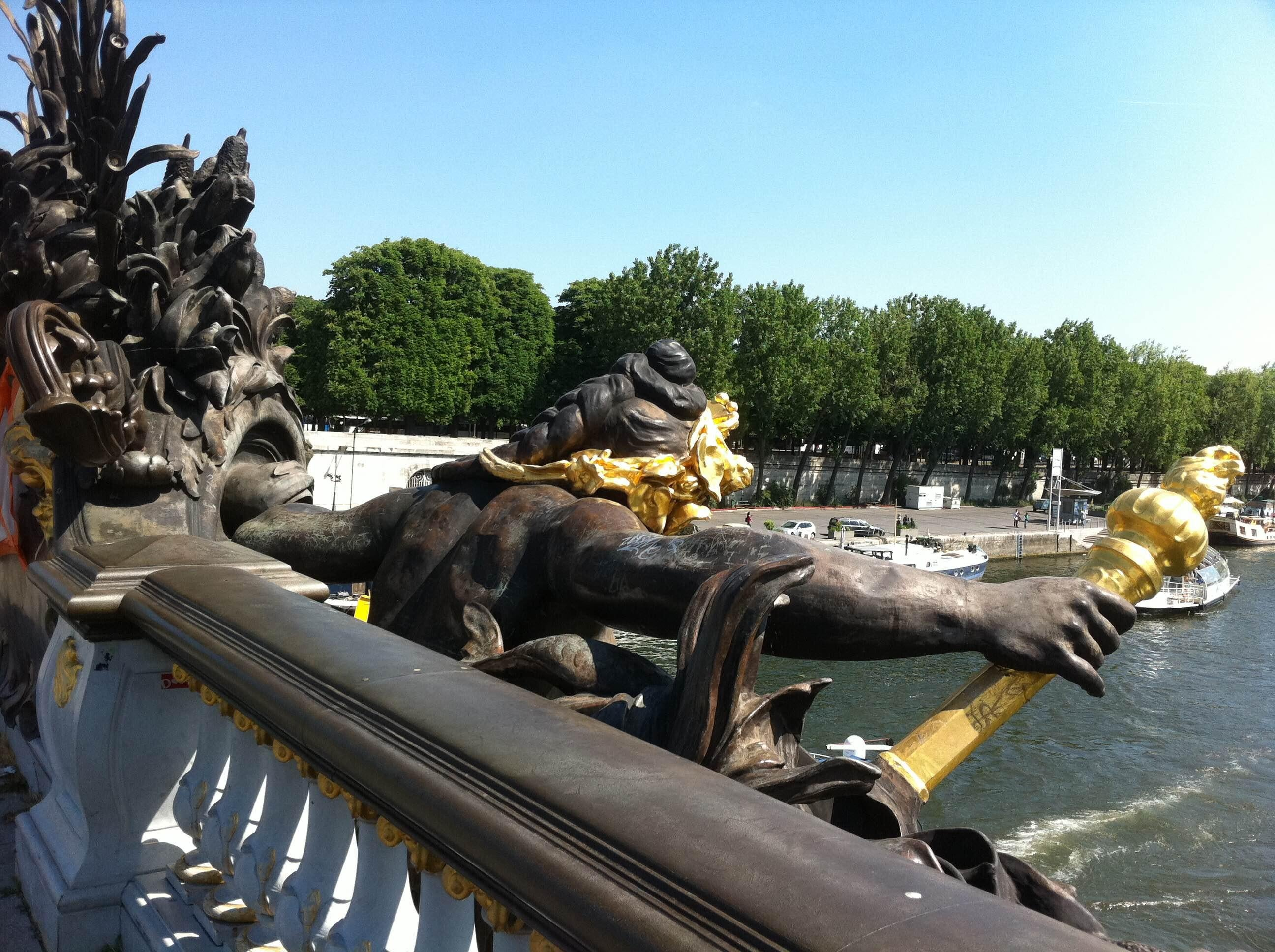 Vehicle in Pont Des Invalides
