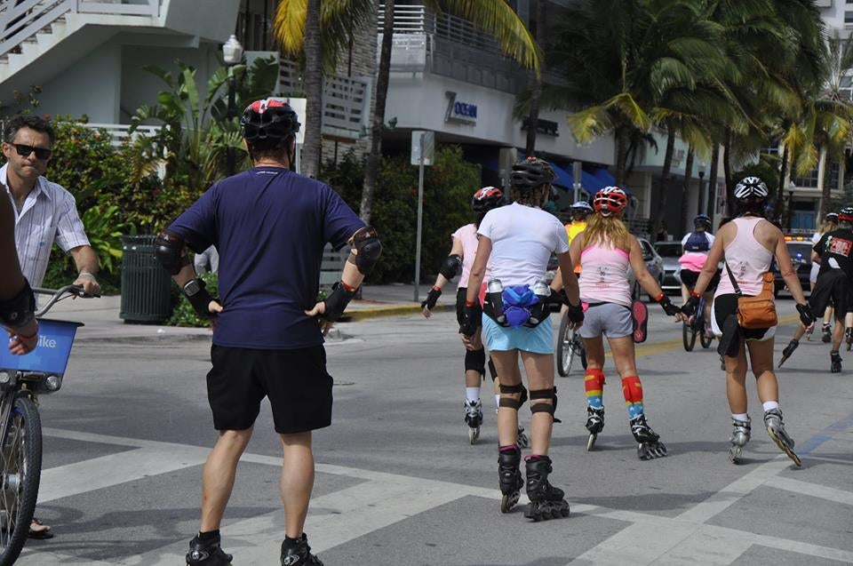 Carrera de fondo en South Beach