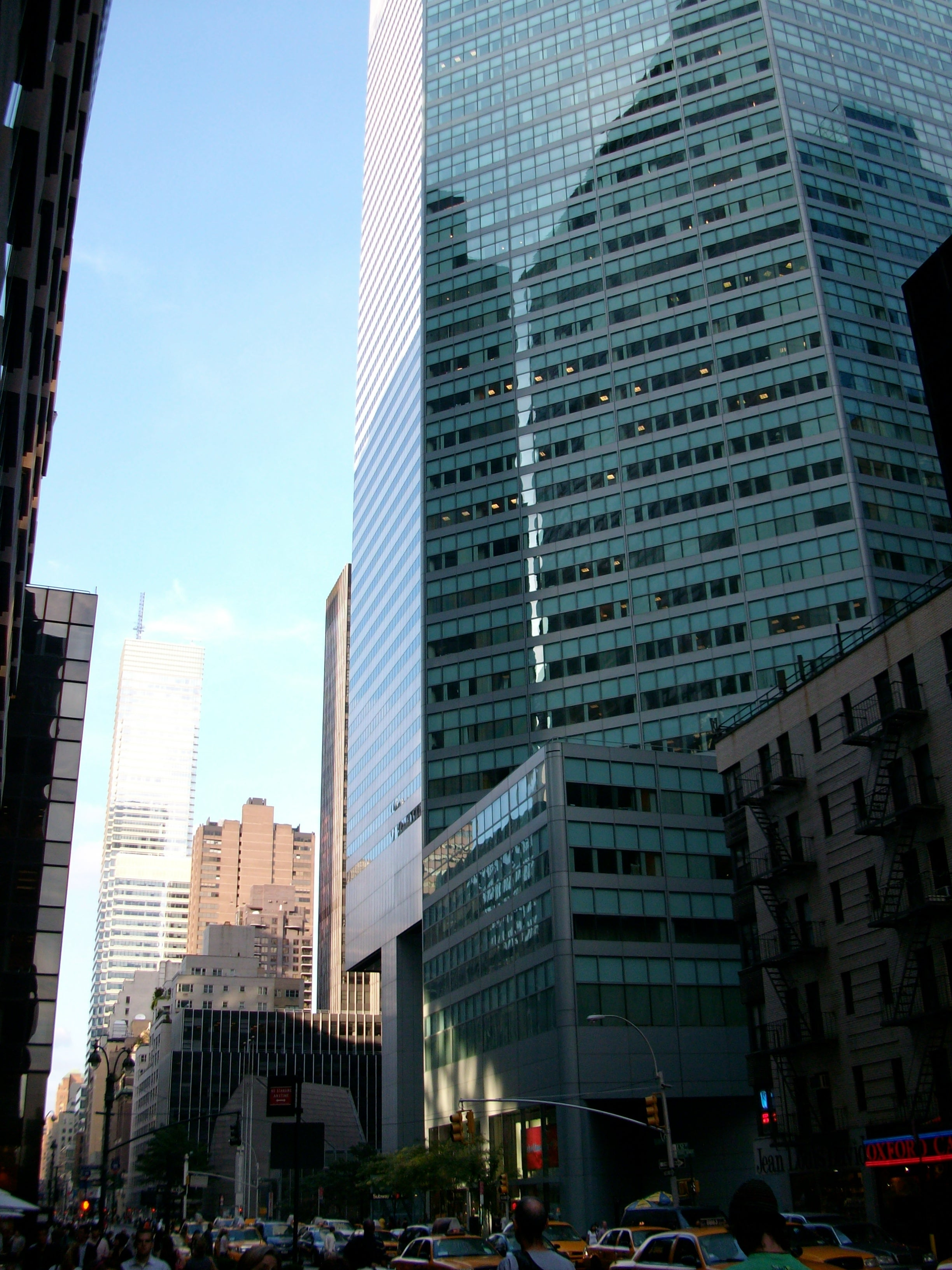 Zona urbana en Lexington avenue