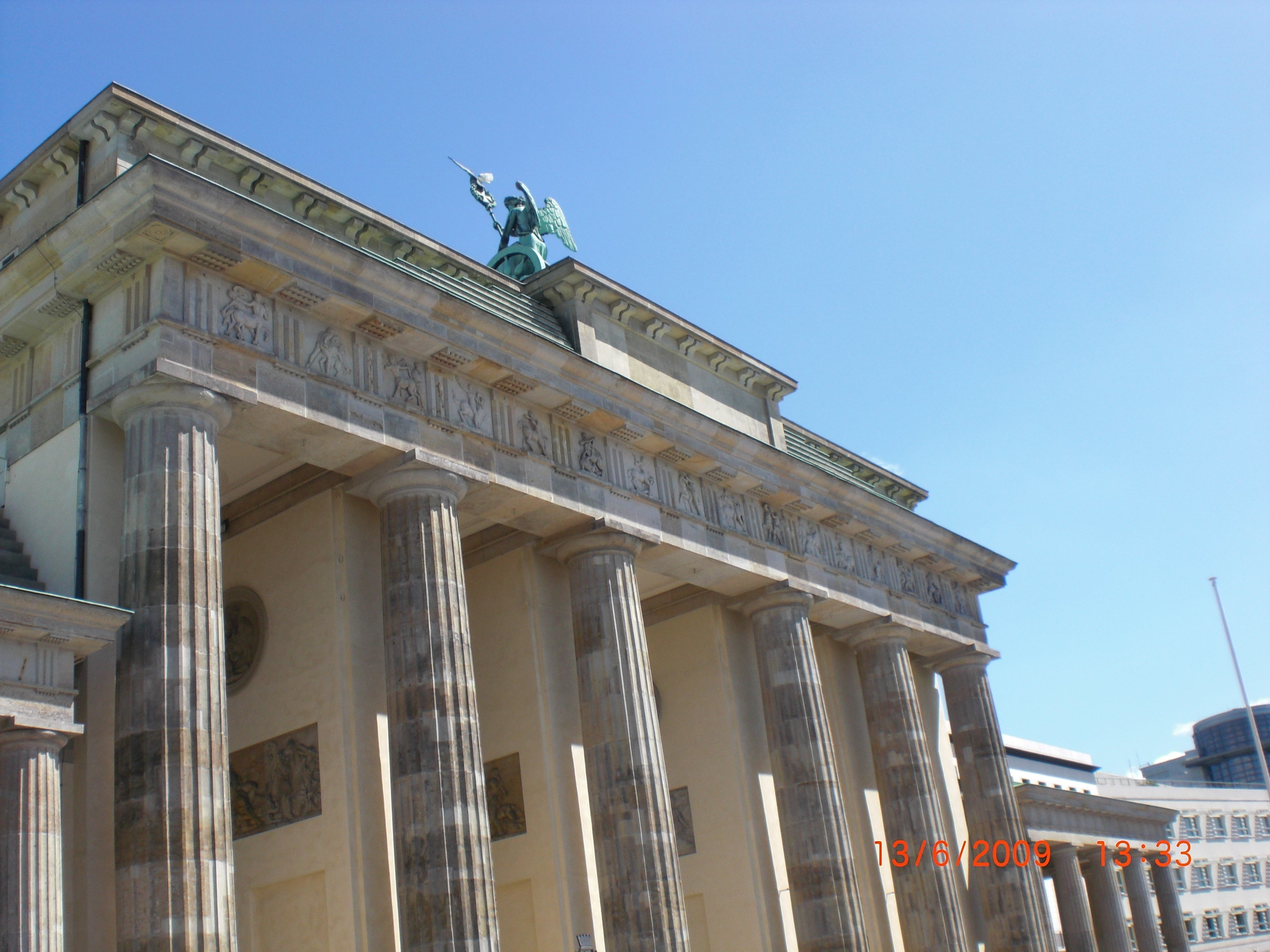 Architecture in Brandenburg Gate