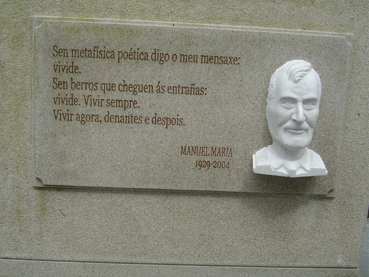 Memorial en Plaza Mayor Lugo