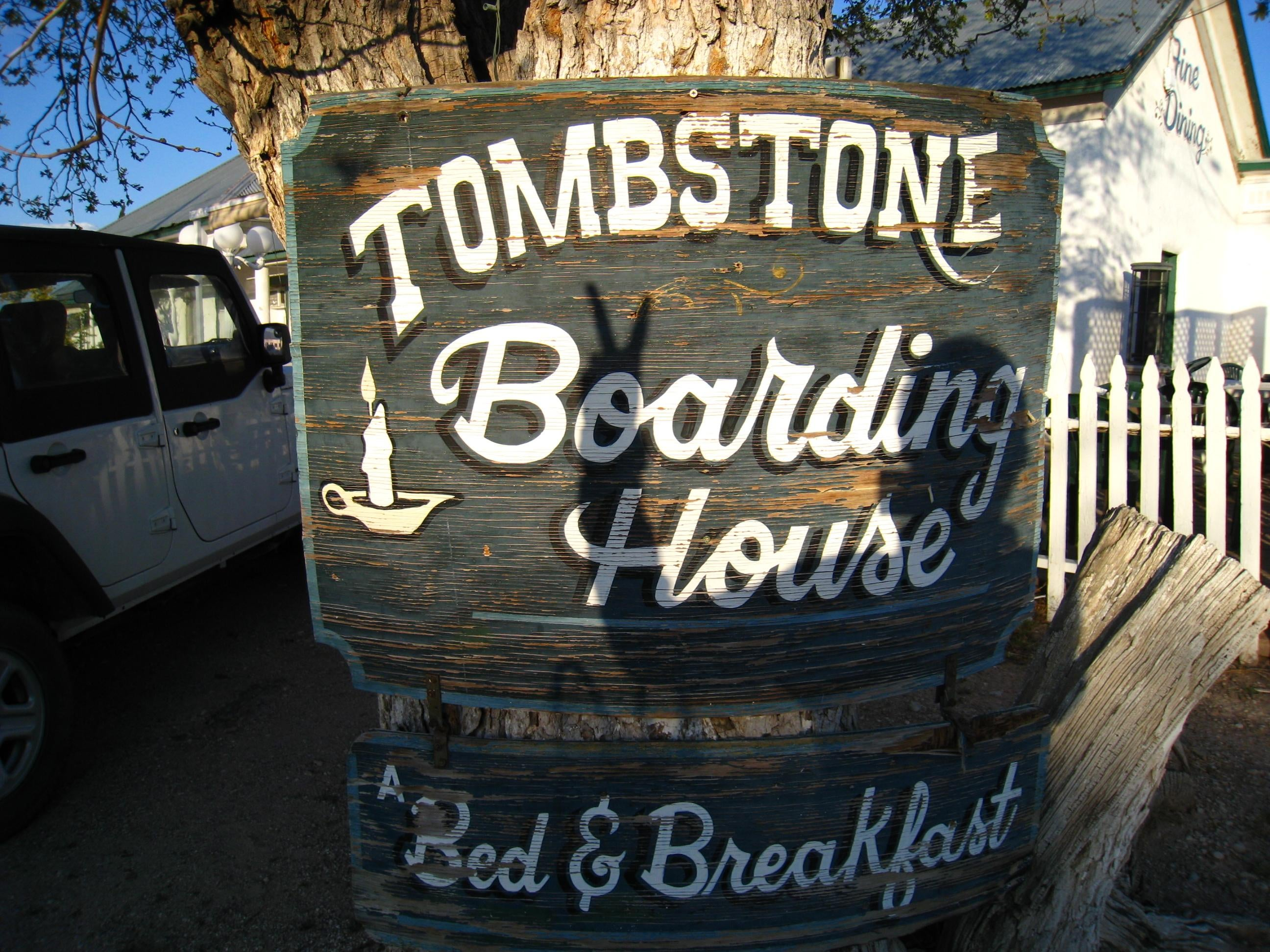The Tombstone Boarding House