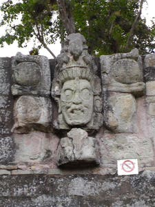 As Ruínas de Copán