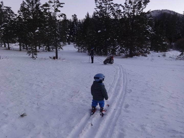Pattee Canyon Northside Ski Trails