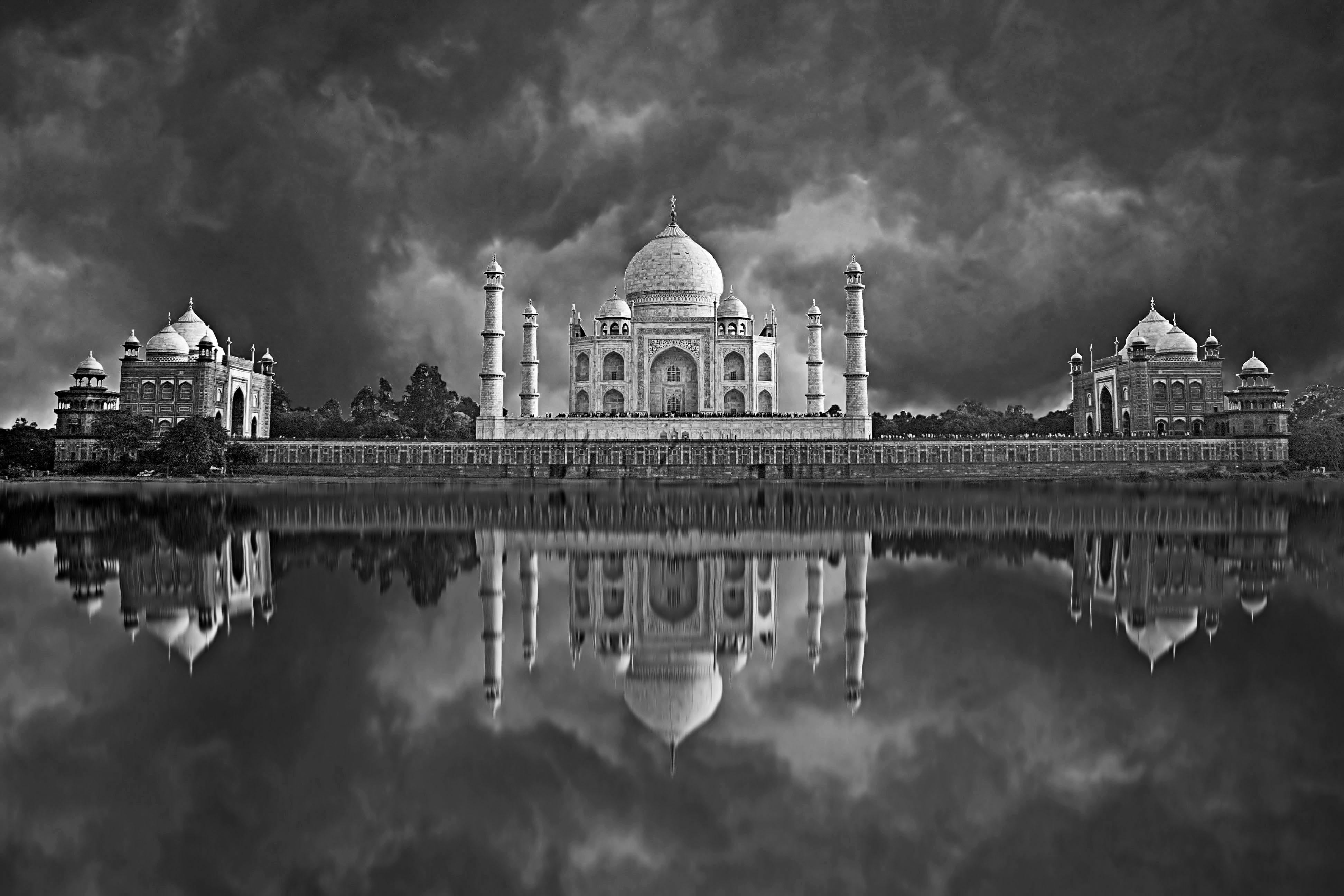 Artes visuales en Taj Mahal