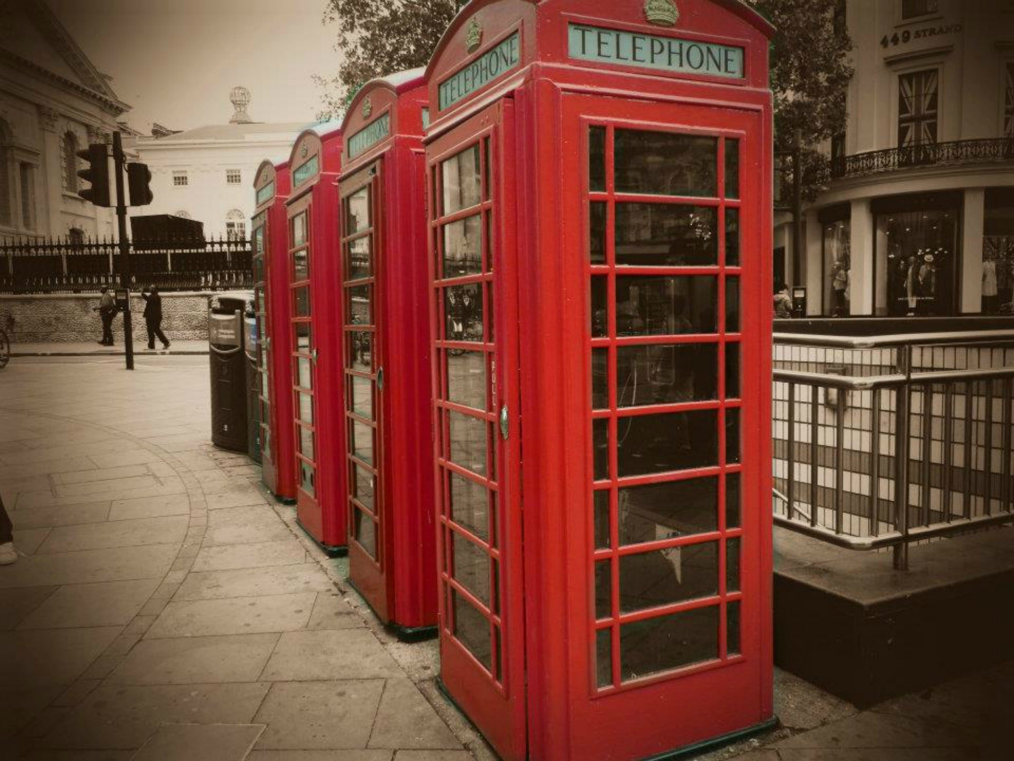 Telephone Booth in Big Ben