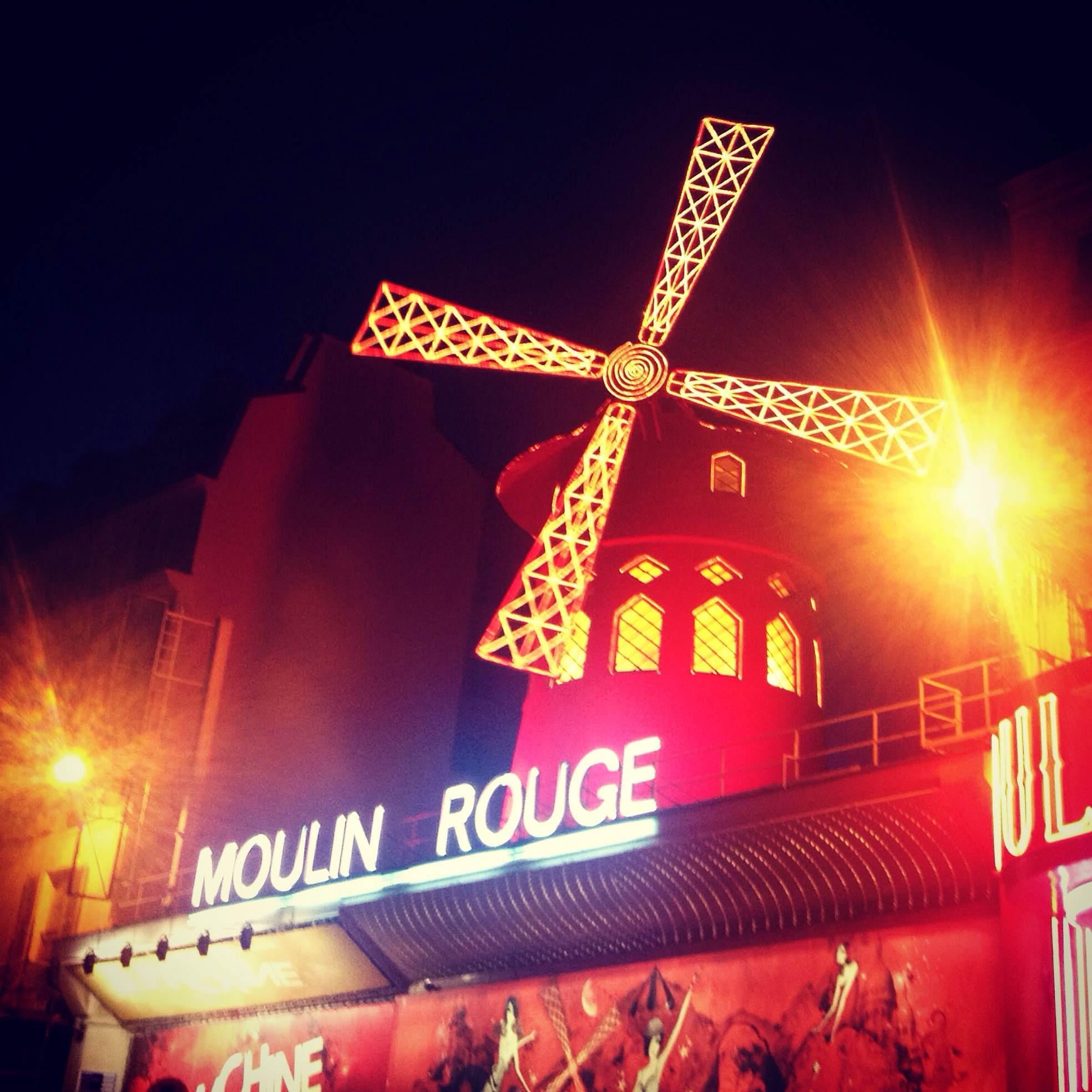 Parque en Moulin Rouge