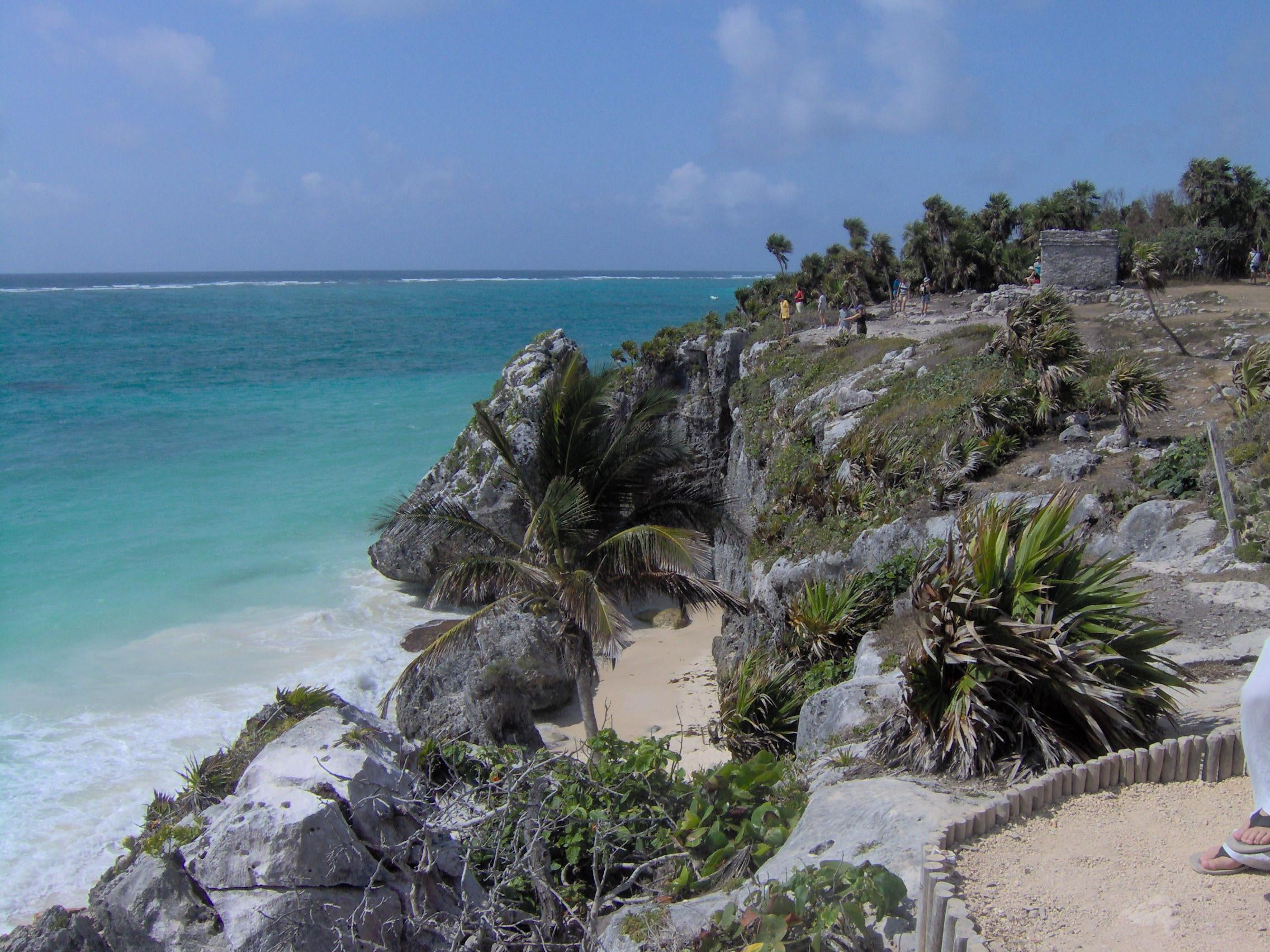 Mar en Playa de Tulum