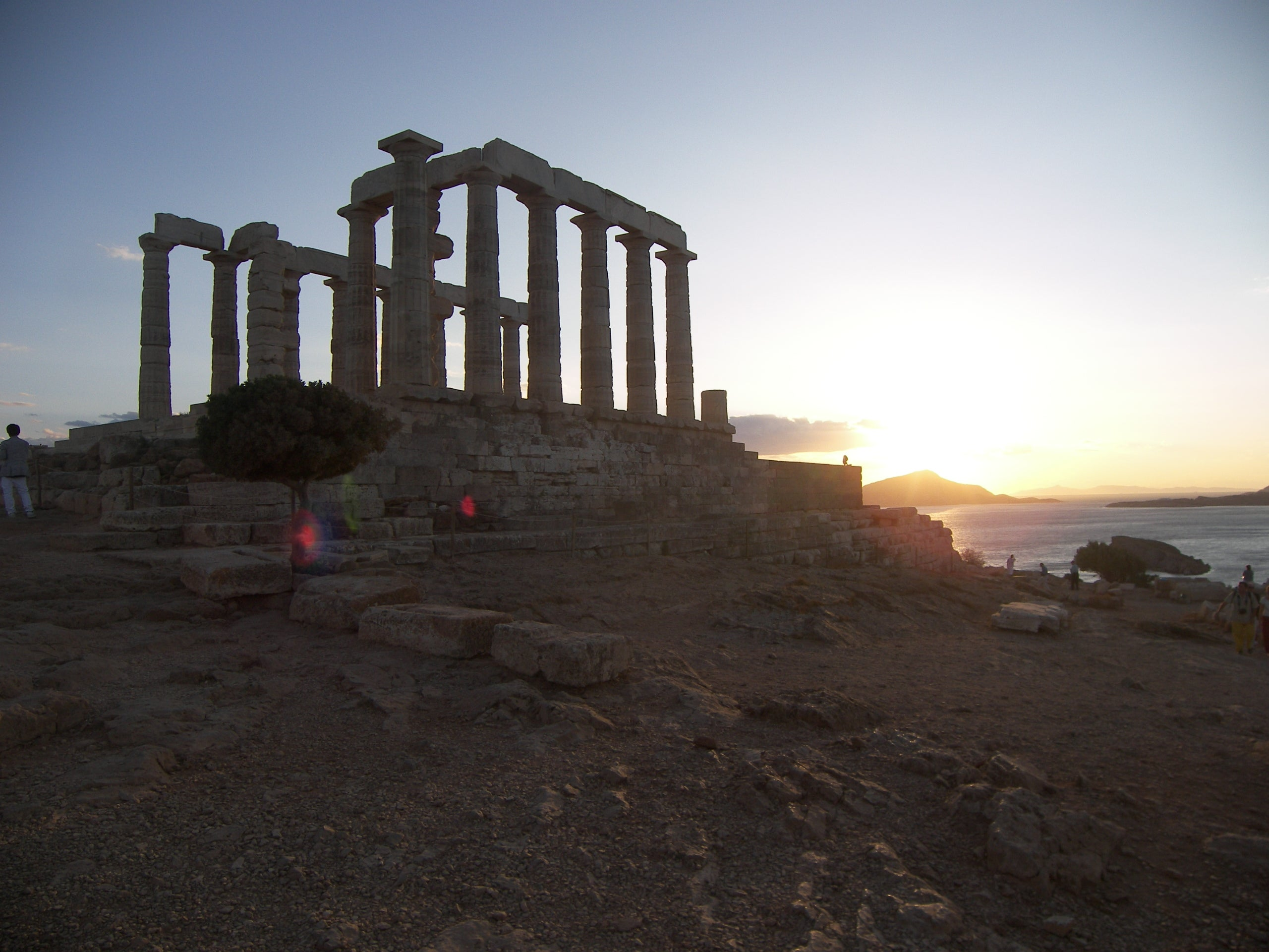 The Temple of Poseidon