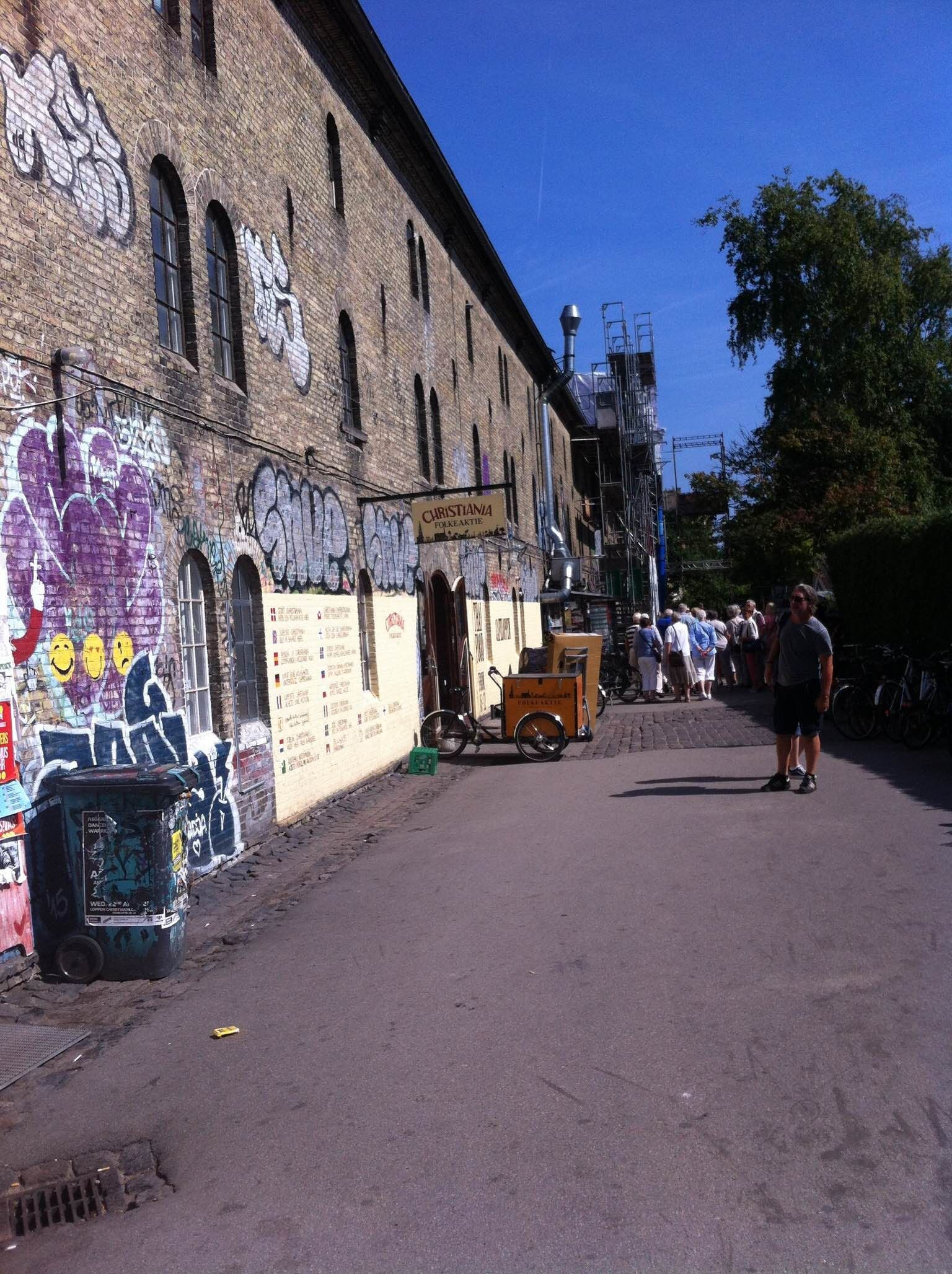 Barrio en Christiania