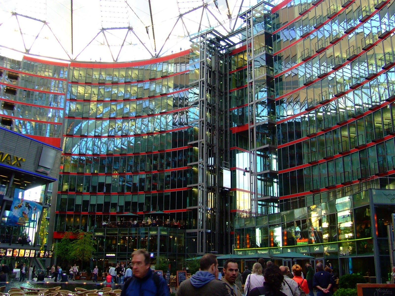 Arquitectura en Sony Center