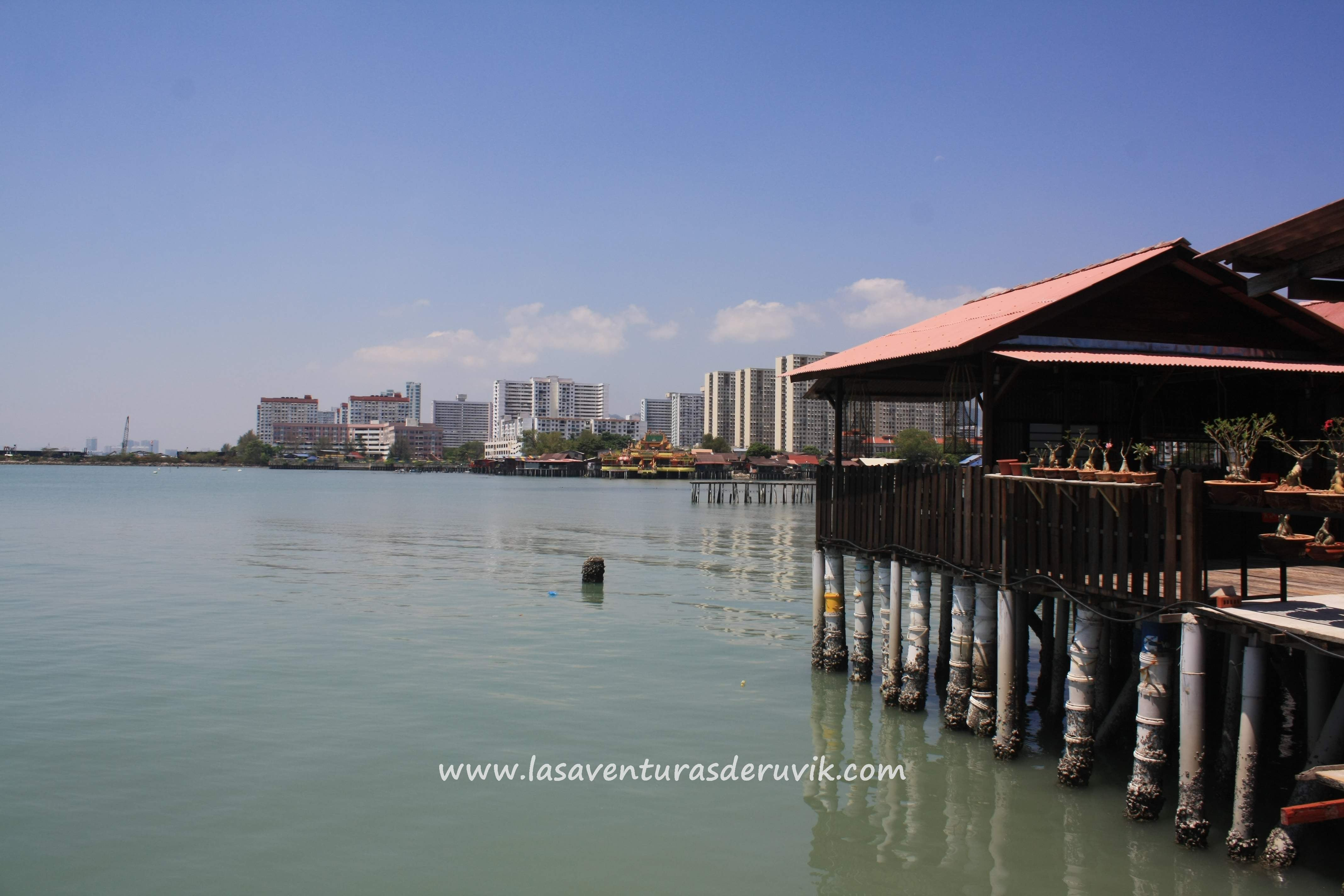 Playa en Chew Jetty