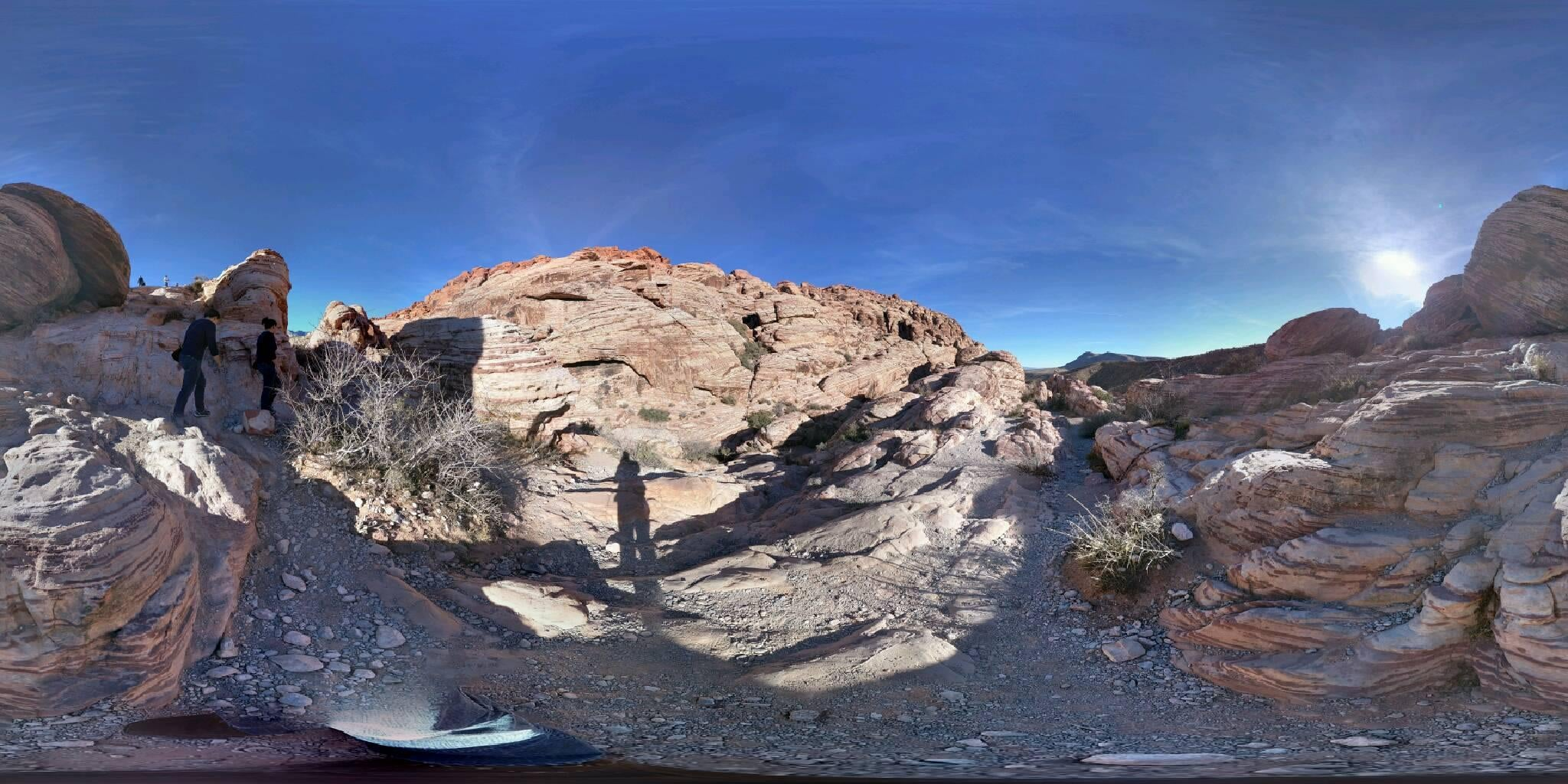 Paisaje en Red Rock Canyon National Conservation Area