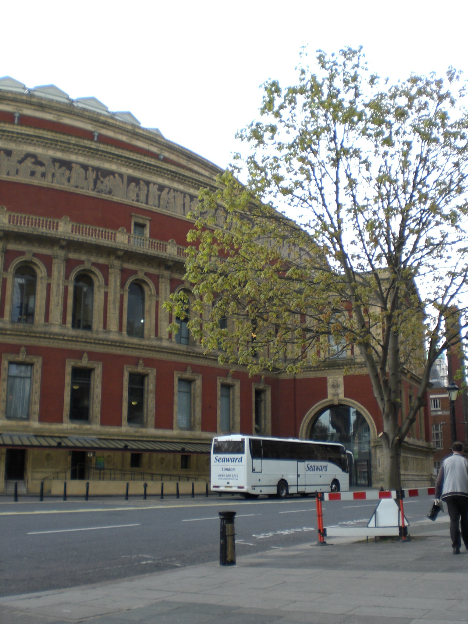 Plaza en Royal Albert Hall