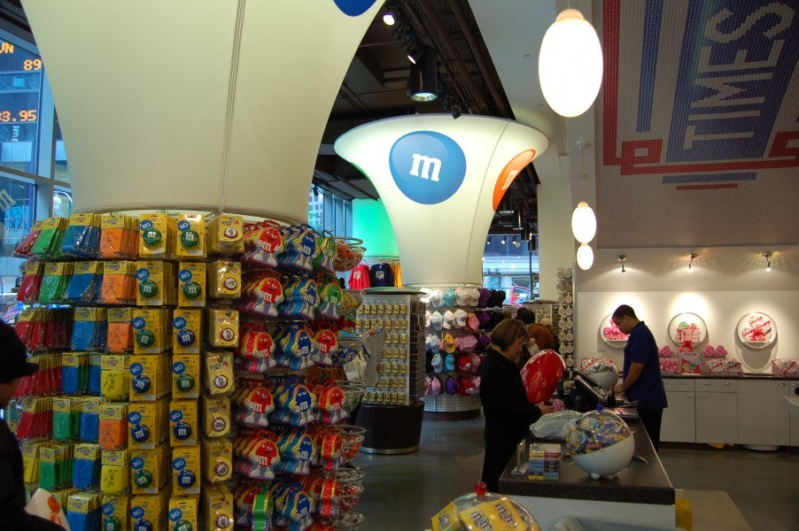 Juguete en M&M'S World