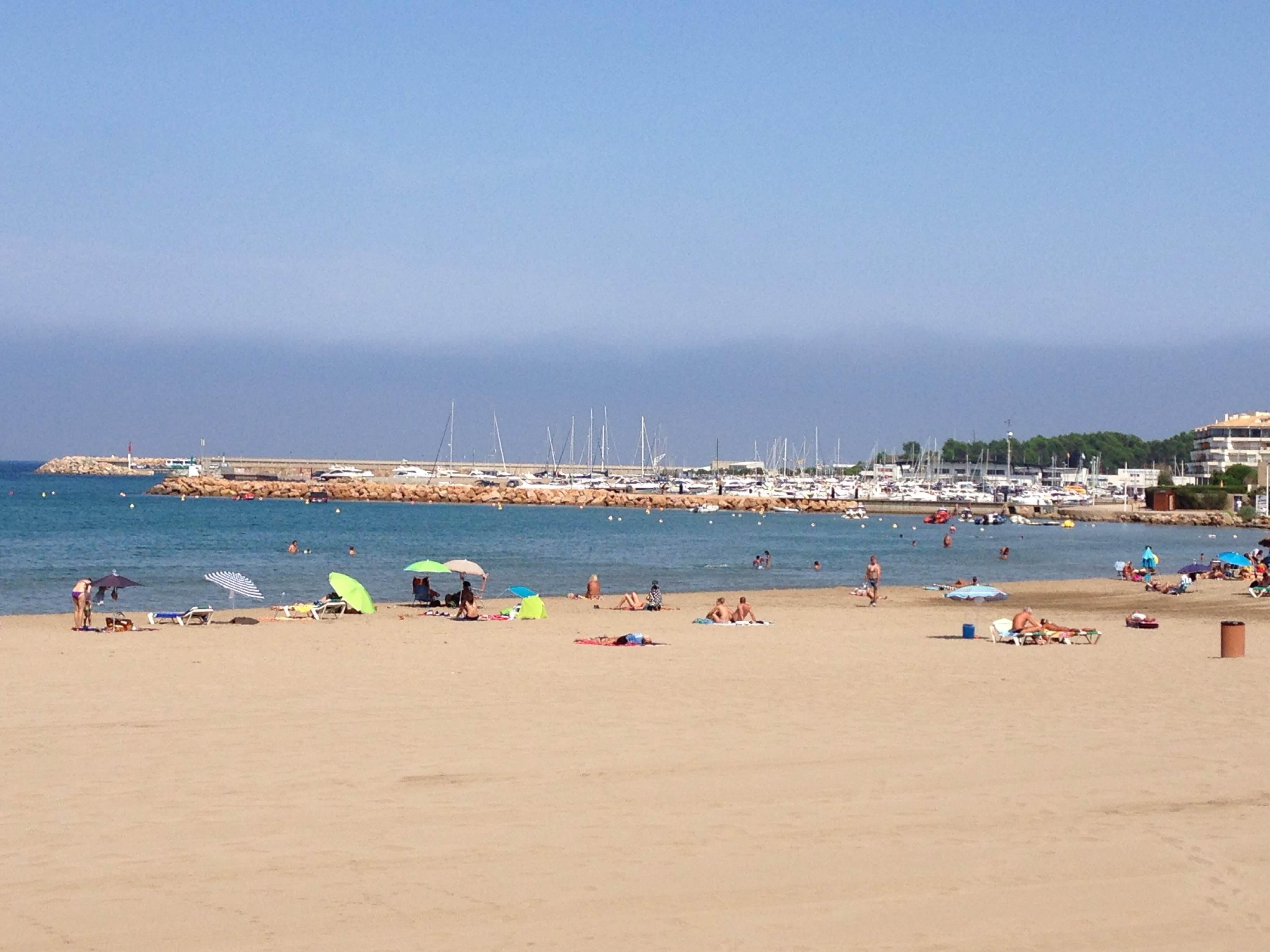 Playa en Empuriabrava