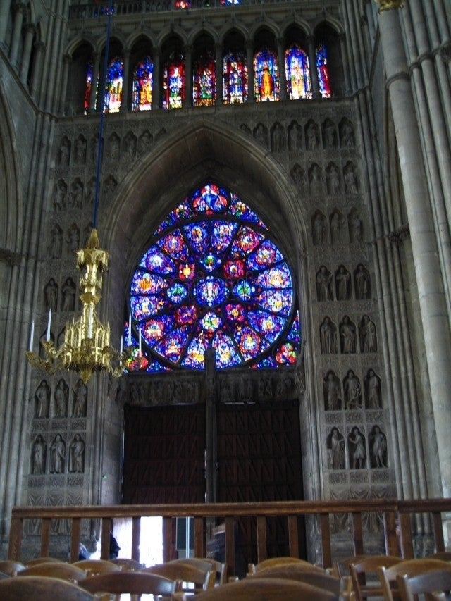 Coro en Catedral de Reims
